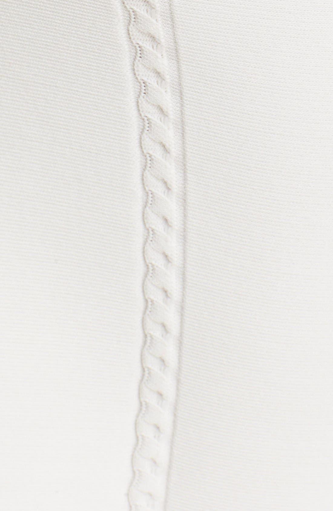 JONATHAN SIMKHAI,                             Cable Knit Pencil Skirt,                             Alternate thumbnail 3, color,                             900
