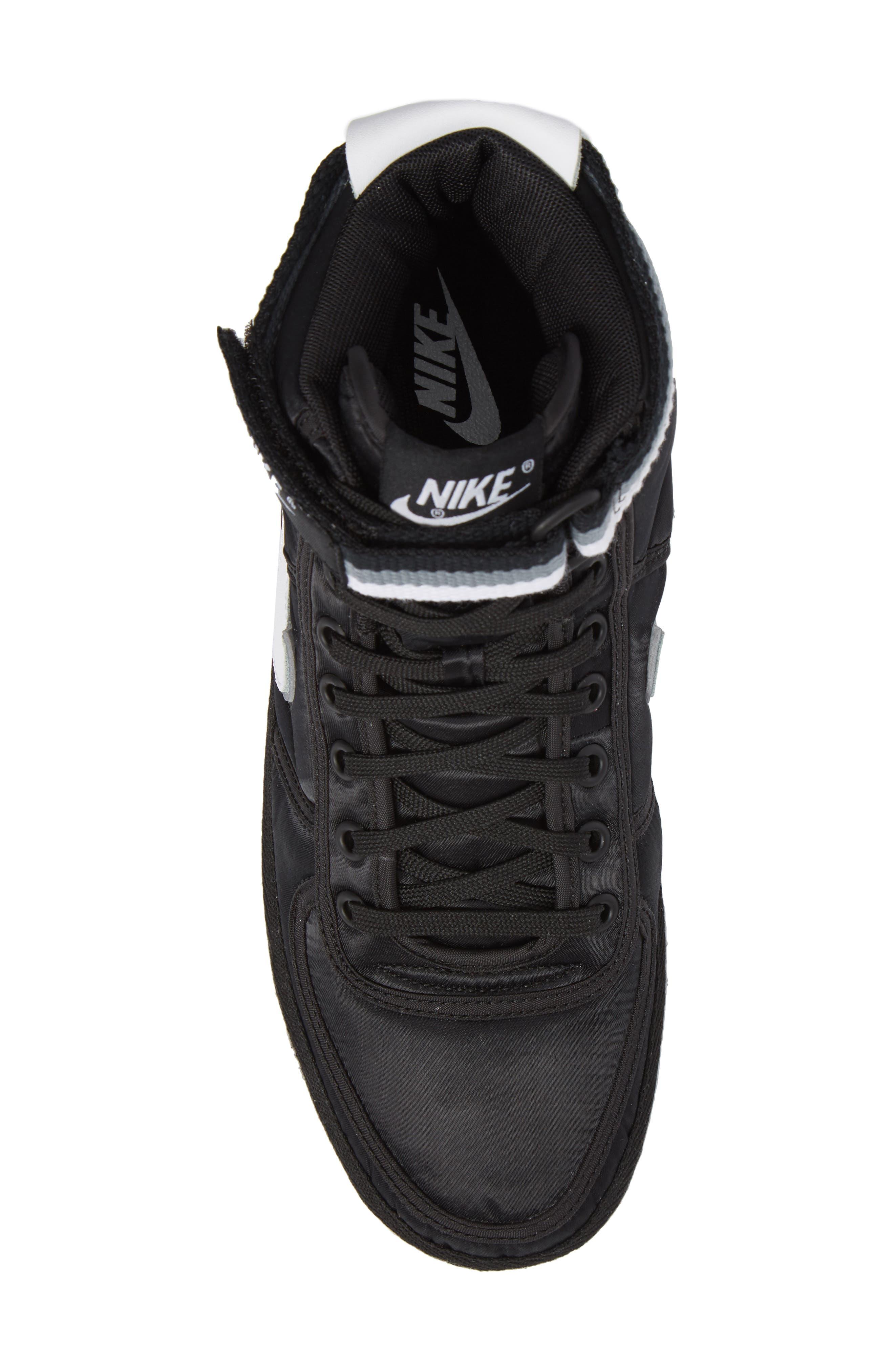 Vandal High Supreme High Top Sneaker,                             Alternate thumbnail 5, color,                             001