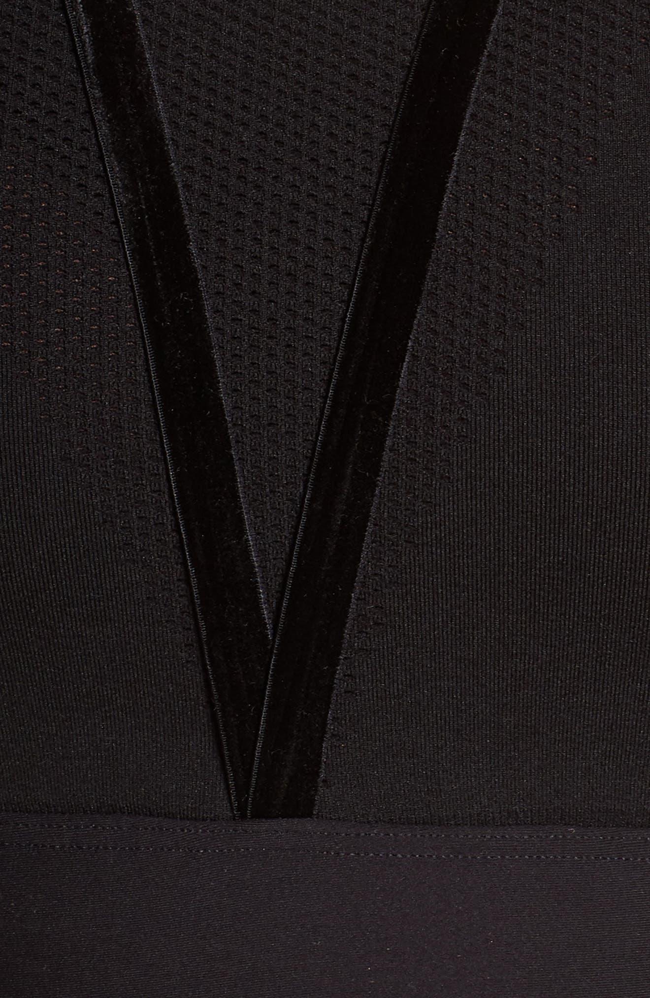 Vixen Sports Bra,                             Alternate thumbnail 7, color,                             BLACK