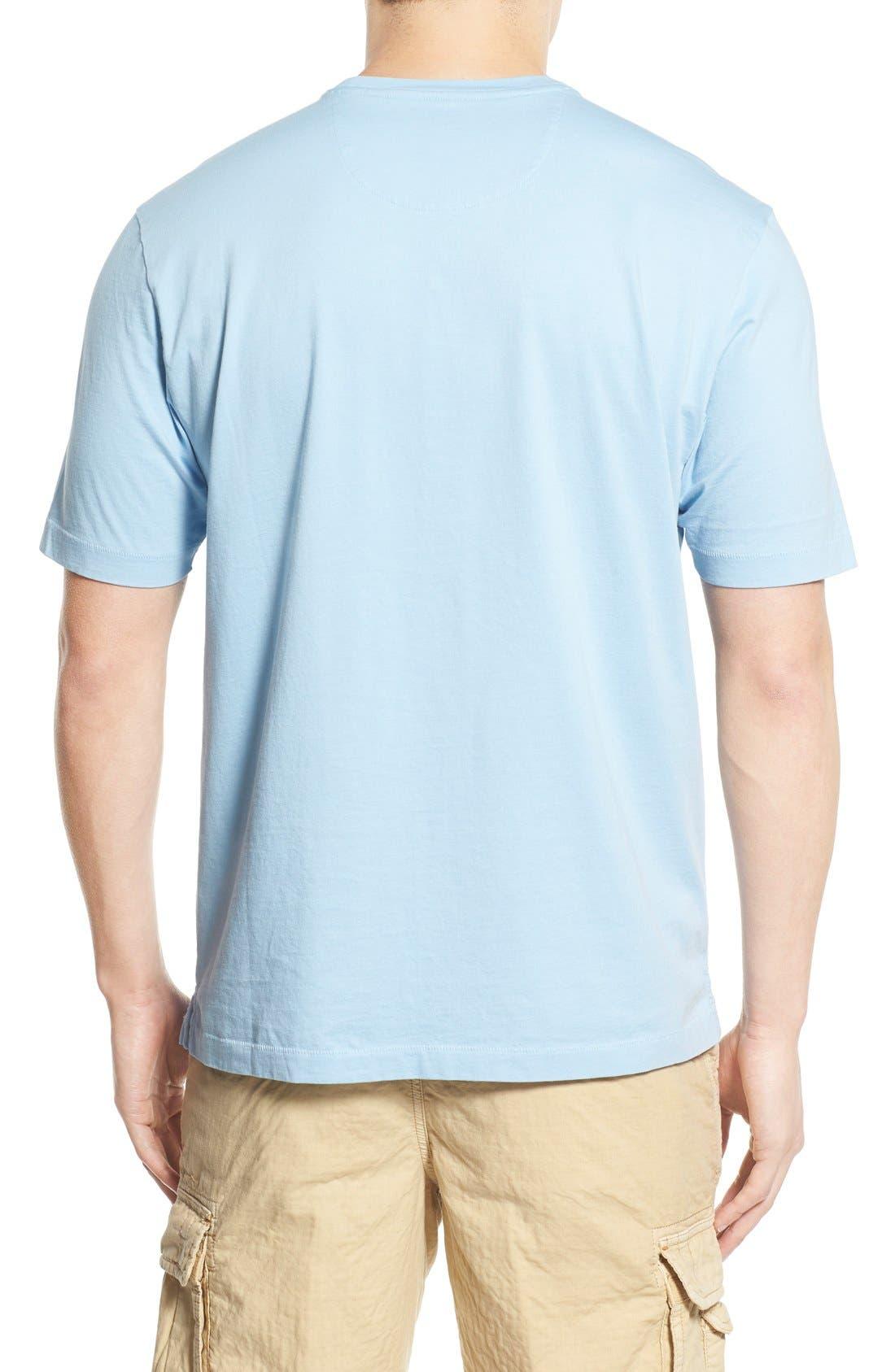 New Bali Sky Pima Cotton Pocket T-Shirt,                             Alternate thumbnail 122, color,