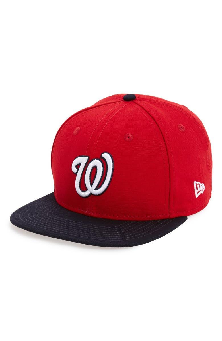 new product 5a988 149aa NEW ERA CAP  Shore Snapper - Washington Nationals  Snapback Baseball Cap,  Main,