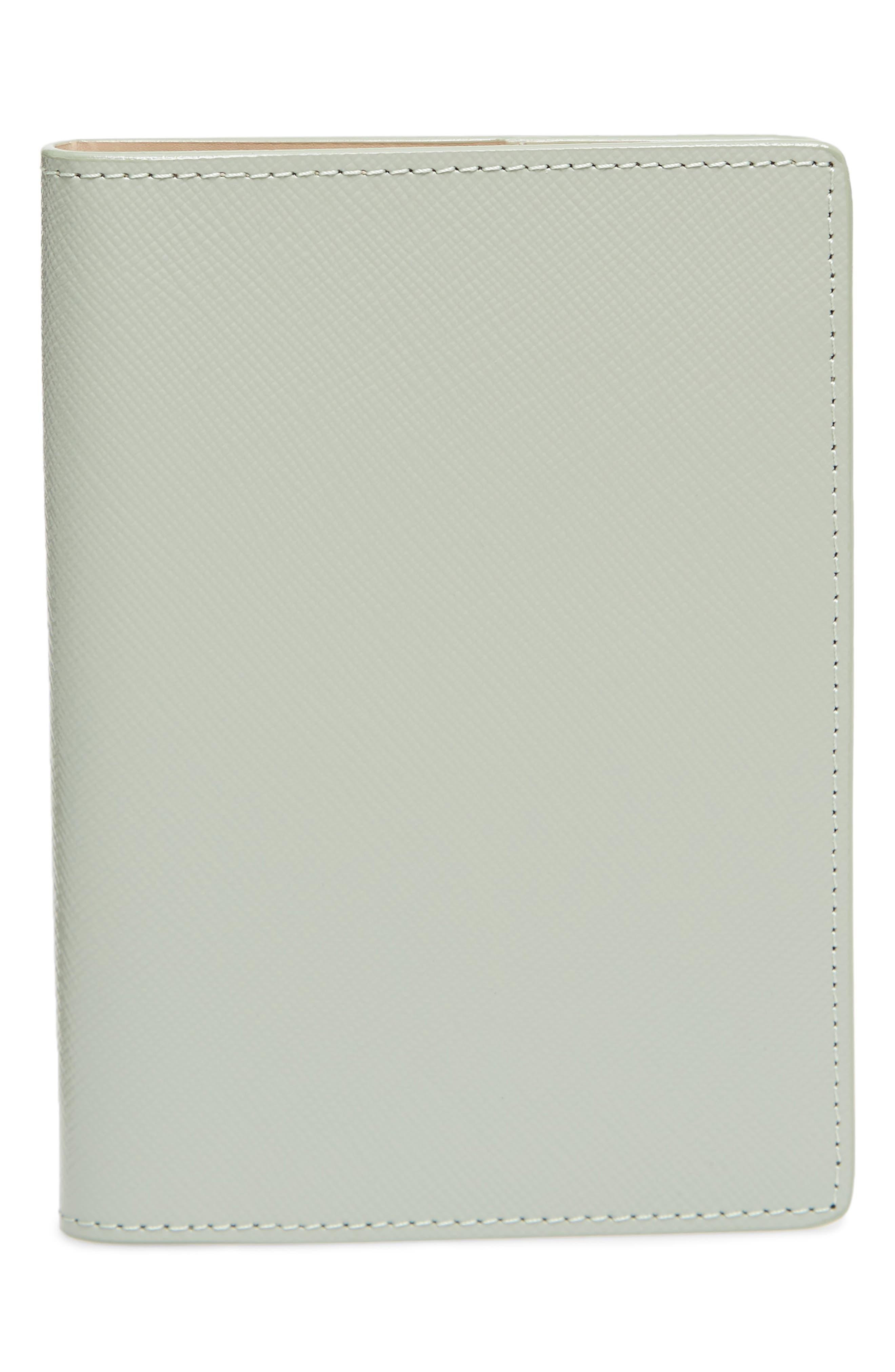 Leather Passport Case,                             Main thumbnail 4, color,