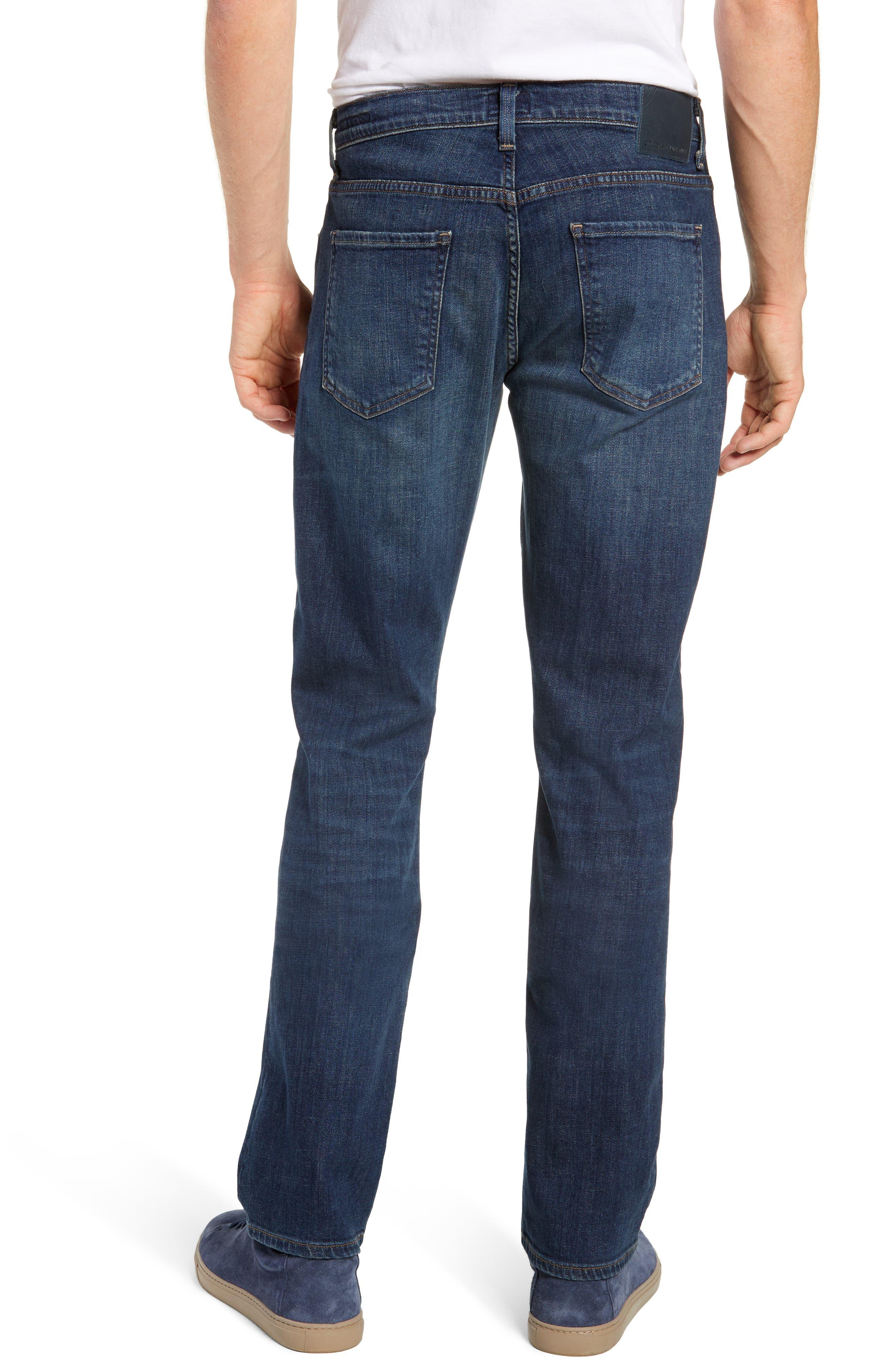 Gage Slim Straight Leg Jeans,                             Alternate thumbnail 2, color,                             EUGENE