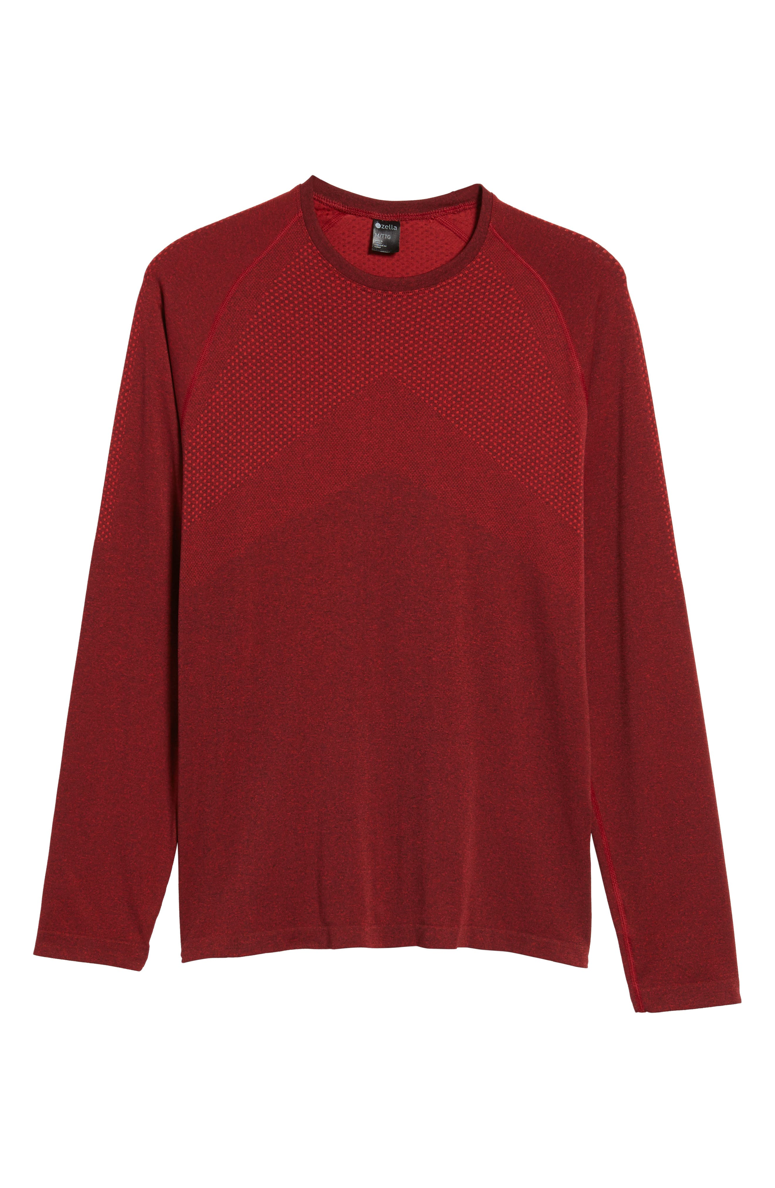 Zeolite Long Sleeve Performance T-Shirt,                             Alternate thumbnail 18, color,