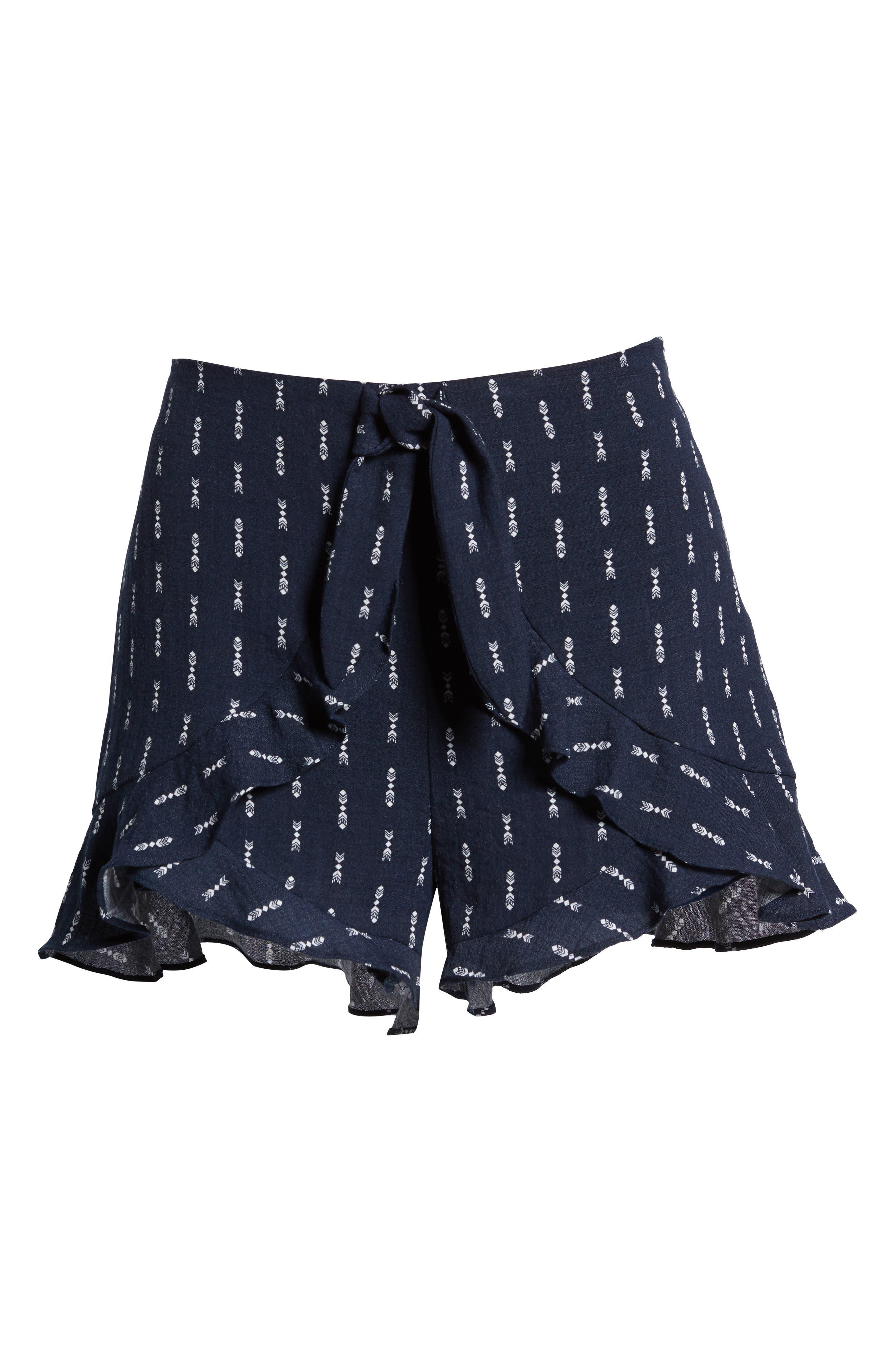 Melrose Flutter Shorts,                             Alternate thumbnail 5, color,                             413