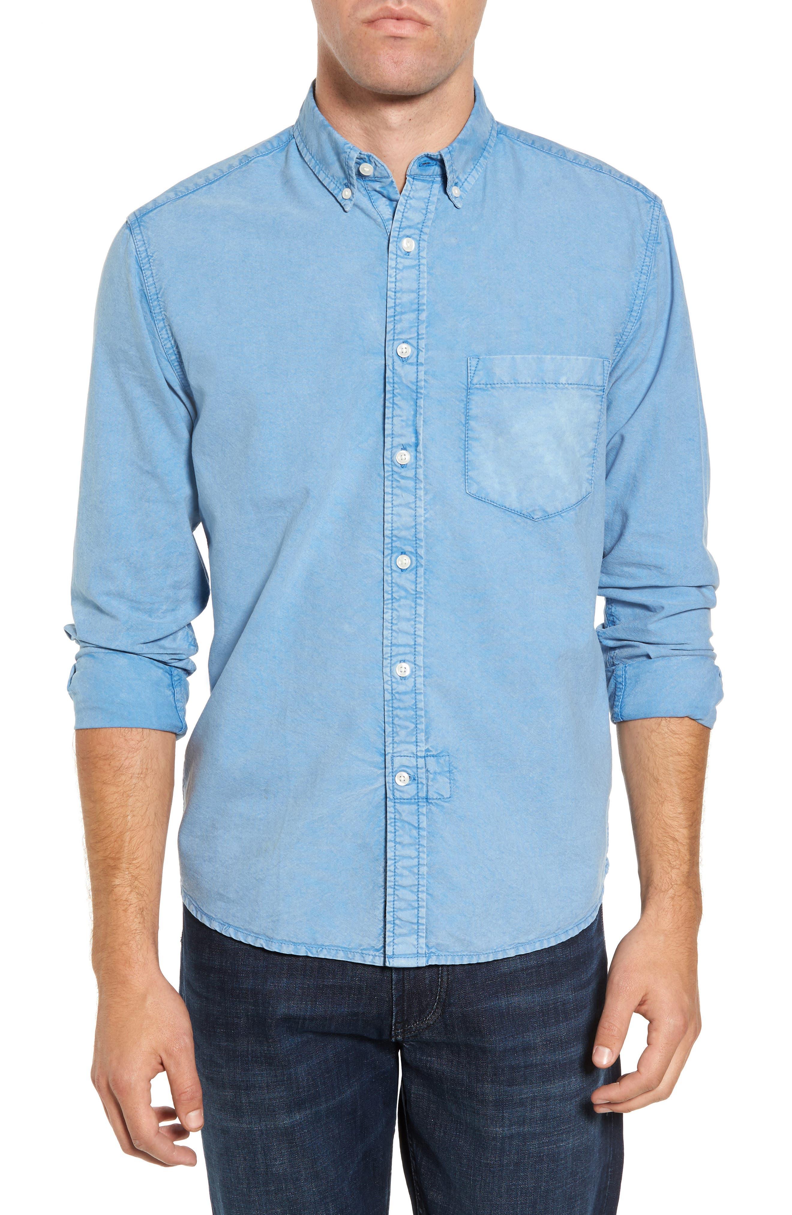 Regular Fit Oxford Sport Shirt,                             Main thumbnail 1, color,                             460
