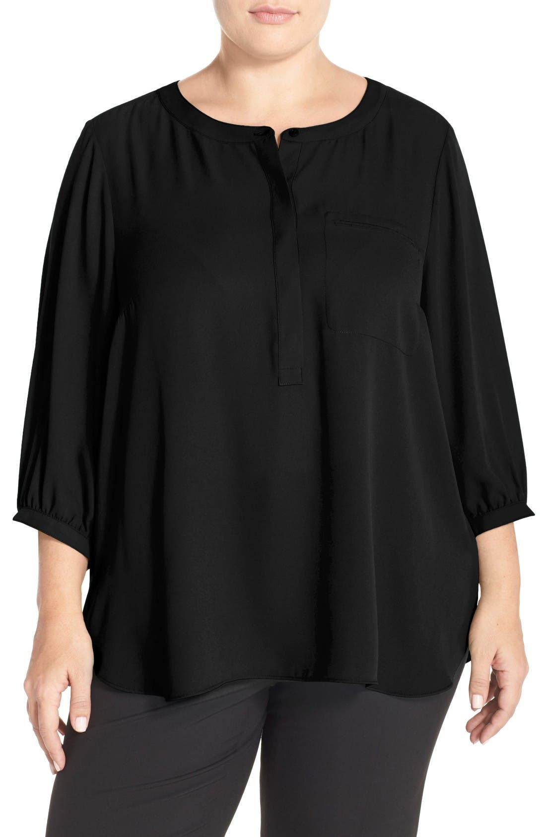 Henley Top,                         Main,                         color, 001