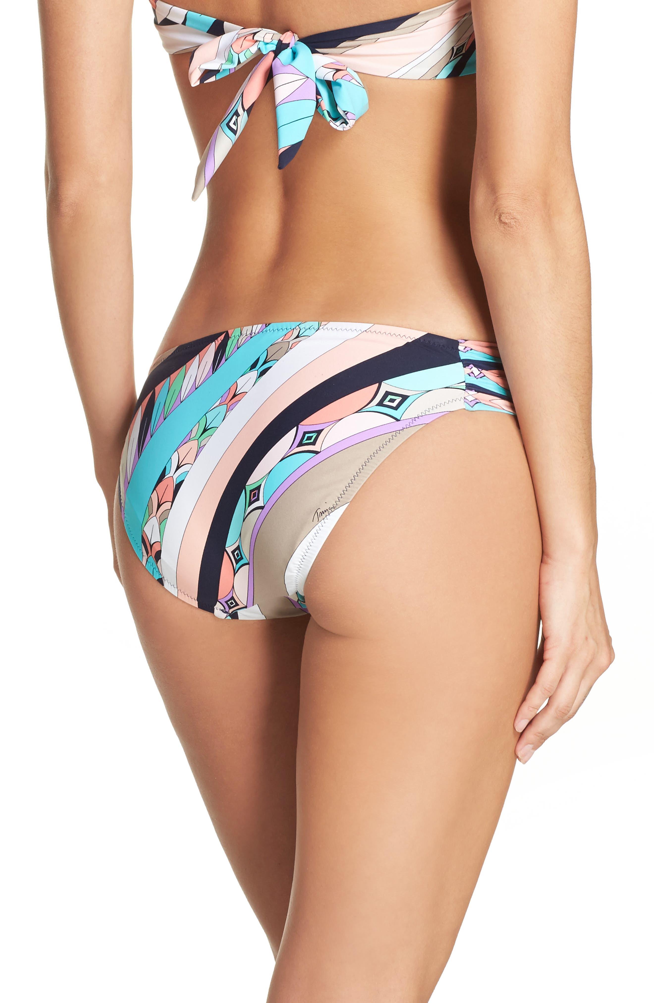 Electric Wave Hipster Bikini Bottoms,                             Alternate thumbnail 2, color,                             400