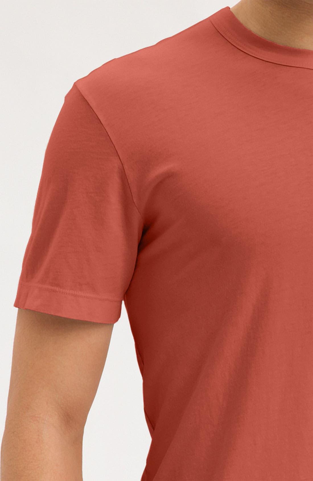 Crewneck Jersey T-Shirt,                             Alternate thumbnail 261, color,