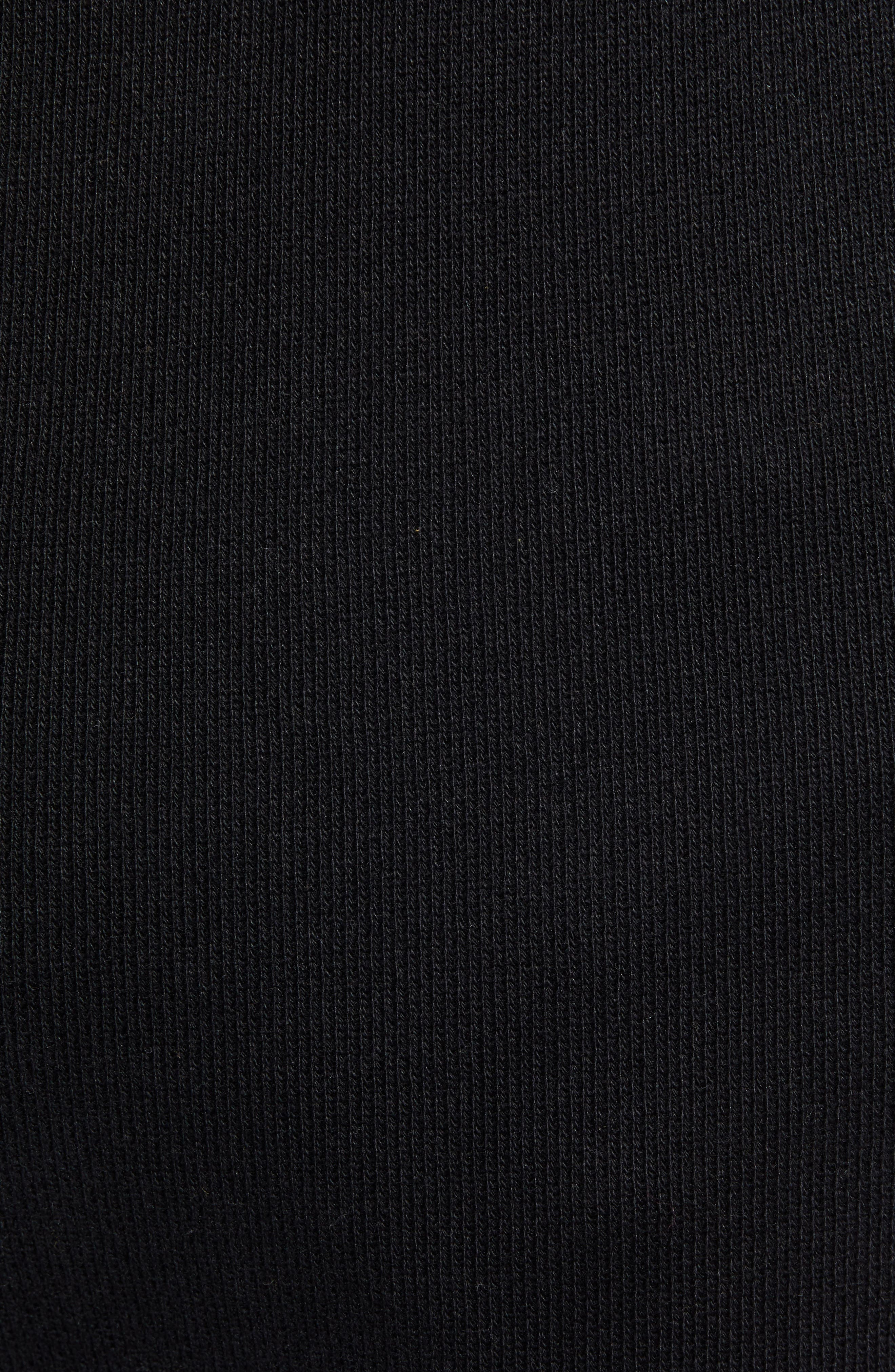 Elevated Jogger Sweatpants,                             Alternate thumbnail 5, color,                             BLACK