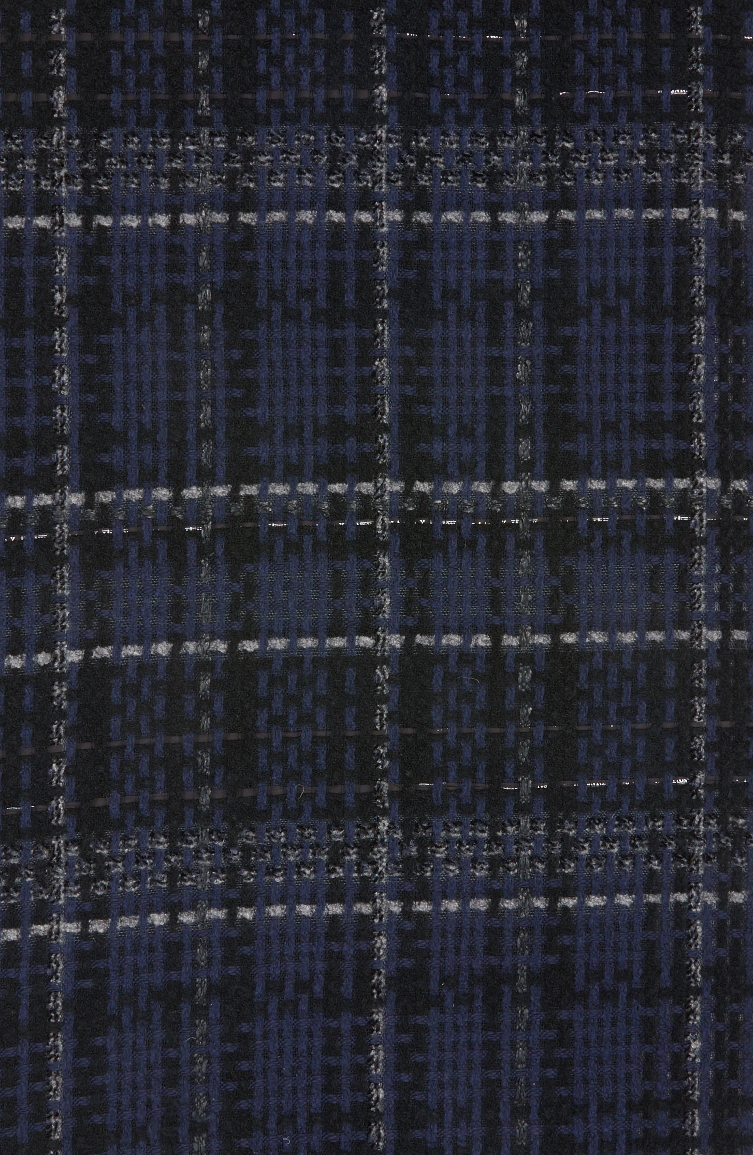 Linton Tweed Scarf,                             Alternate thumbnail 4, color,                             411