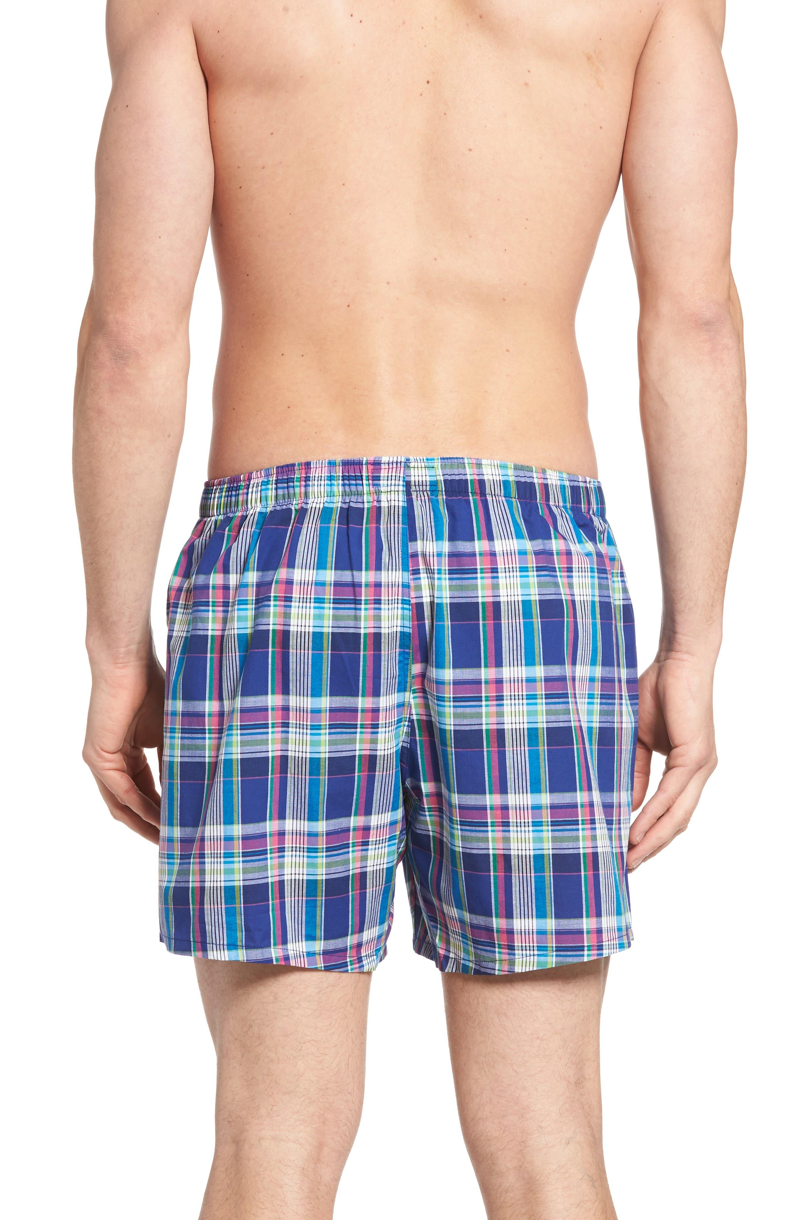 Stripe Cotton Boxers,                             Alternate thumbnail 5, color,