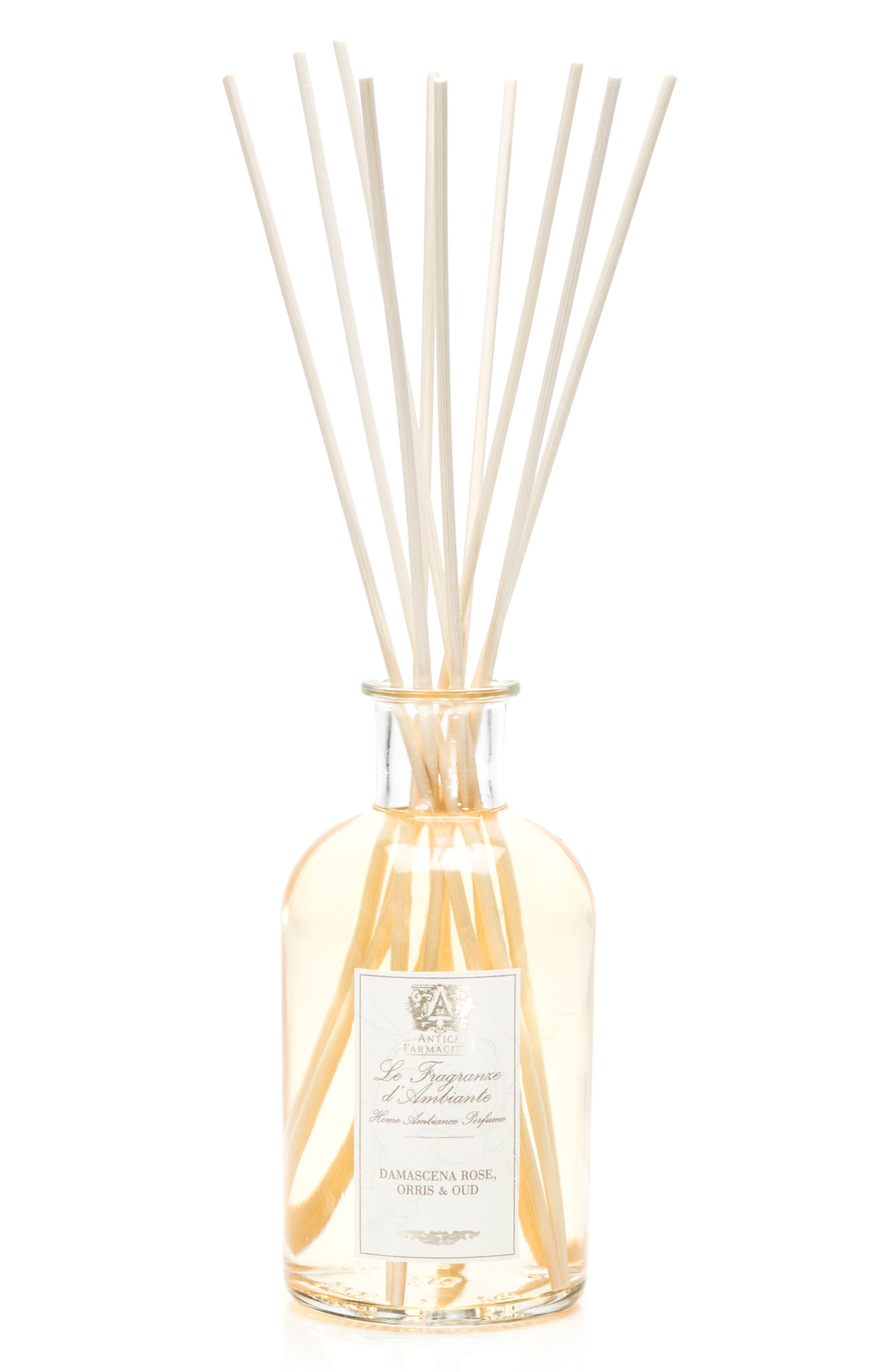 Damascena Rose, Orris & Oud Home Ambiance Perfume,                             Alternate thumbnail 2, color,                             NO COLOR