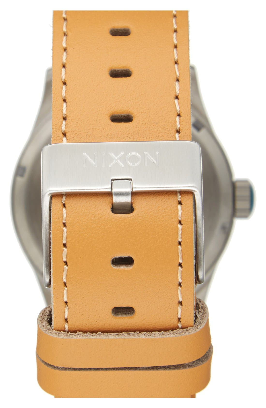 The Sentry Leather Strap Watch, 42mm,                             Alternate thumbnail 125, color,