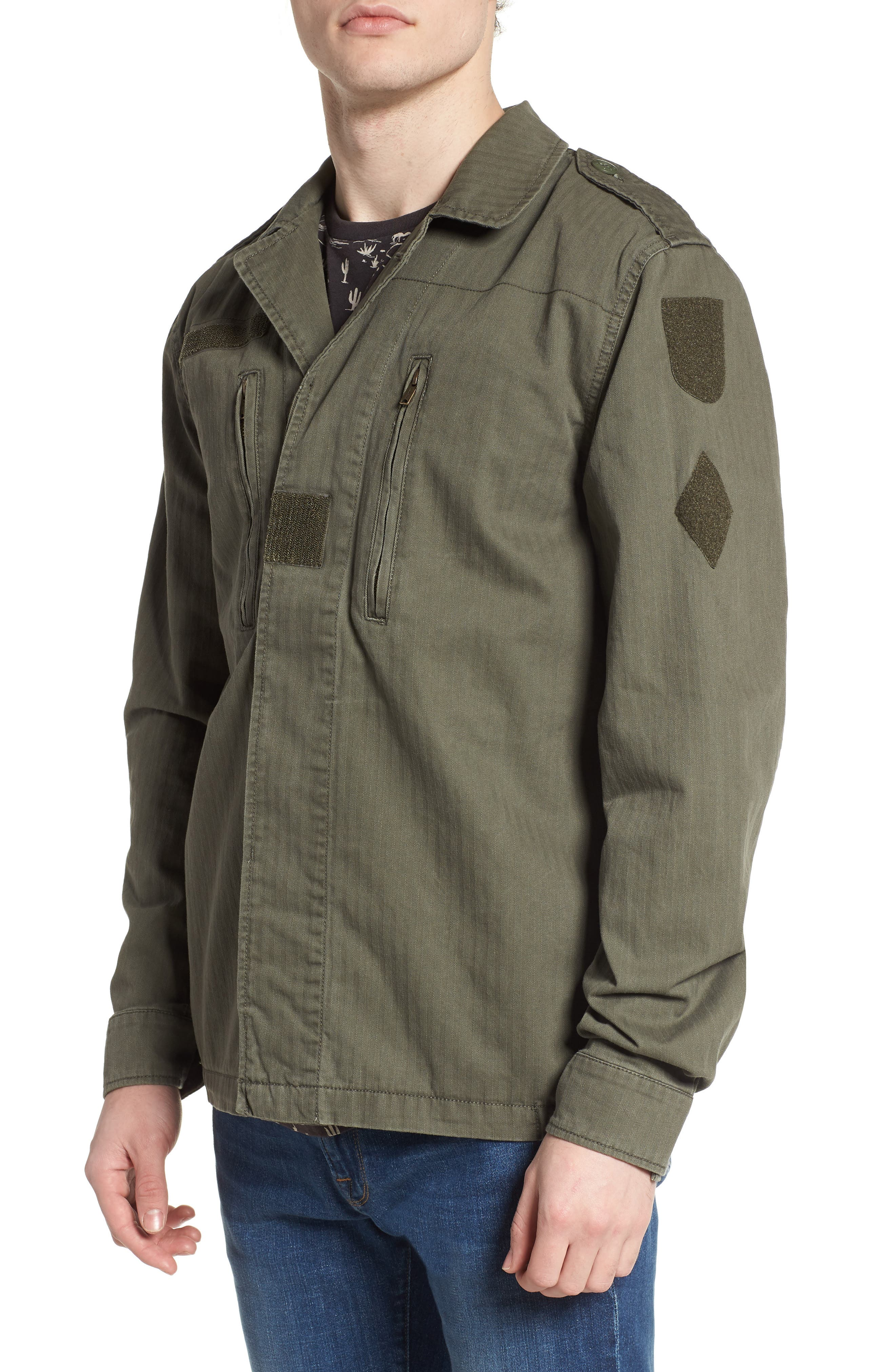 F-2 French Field Jacket,                             Alternate thumbnail 4, color,                             300