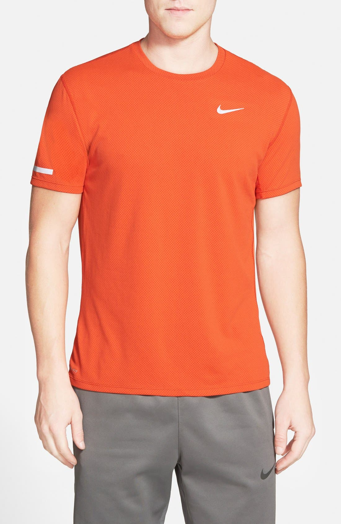 'Contour' Mesh Dri-FIT Running T-Shirt,                             Main thumbnail 7, color,