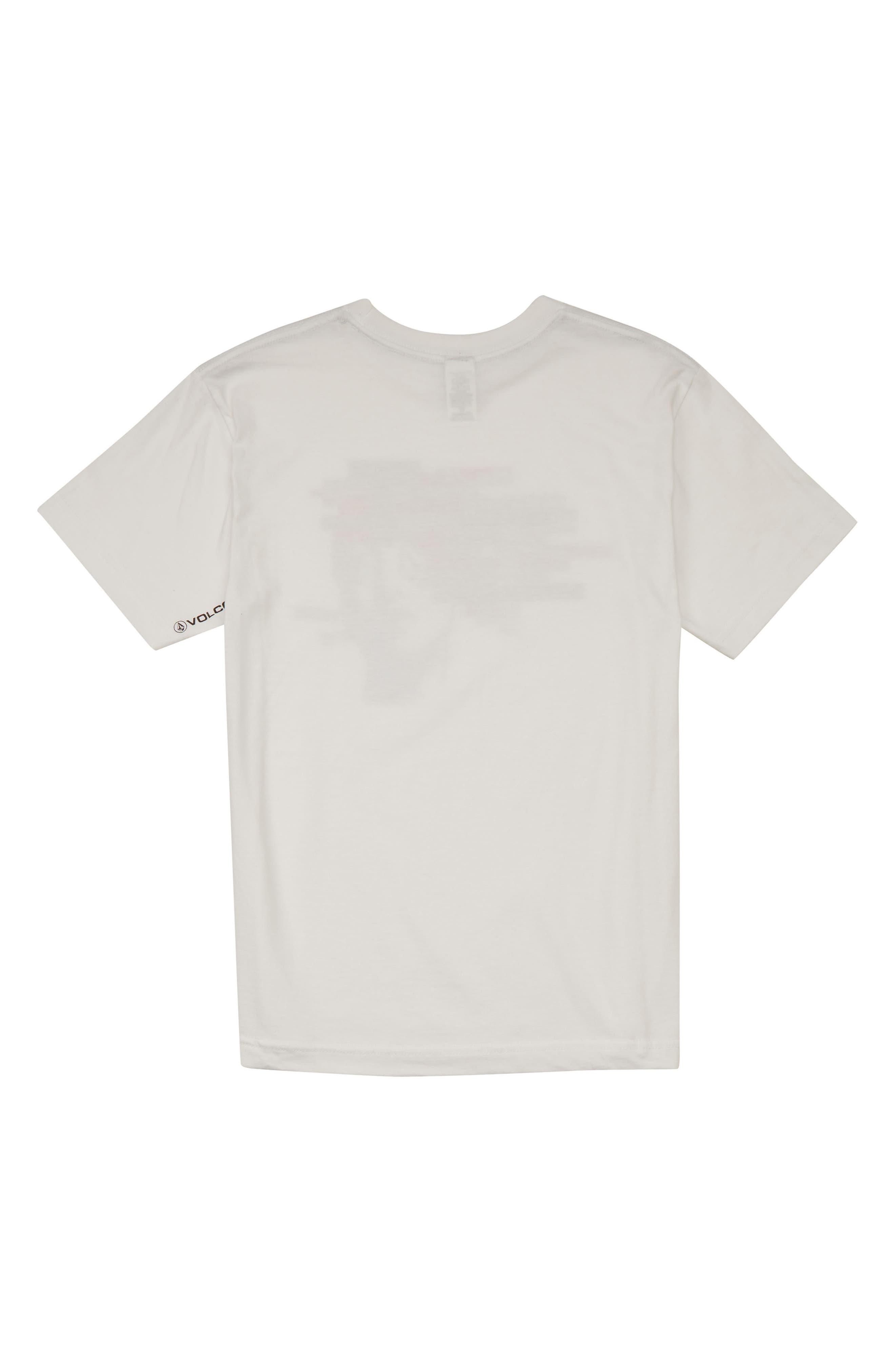 Noa Noisehead Graphic T-Shirt,                             Alternate thumbnail 2, color,                             WHITE