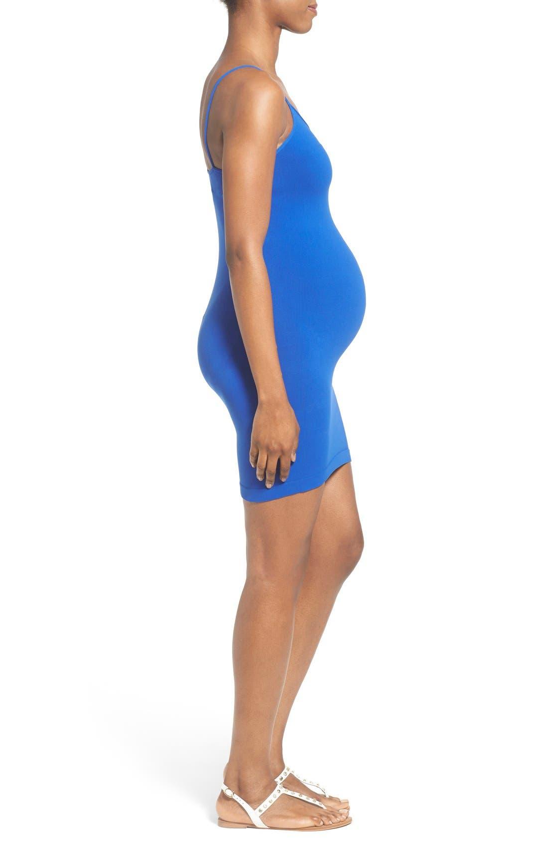 Cami Tunic Slip Maternity Dress,                             Alternate thumbnail 3, color,                             138