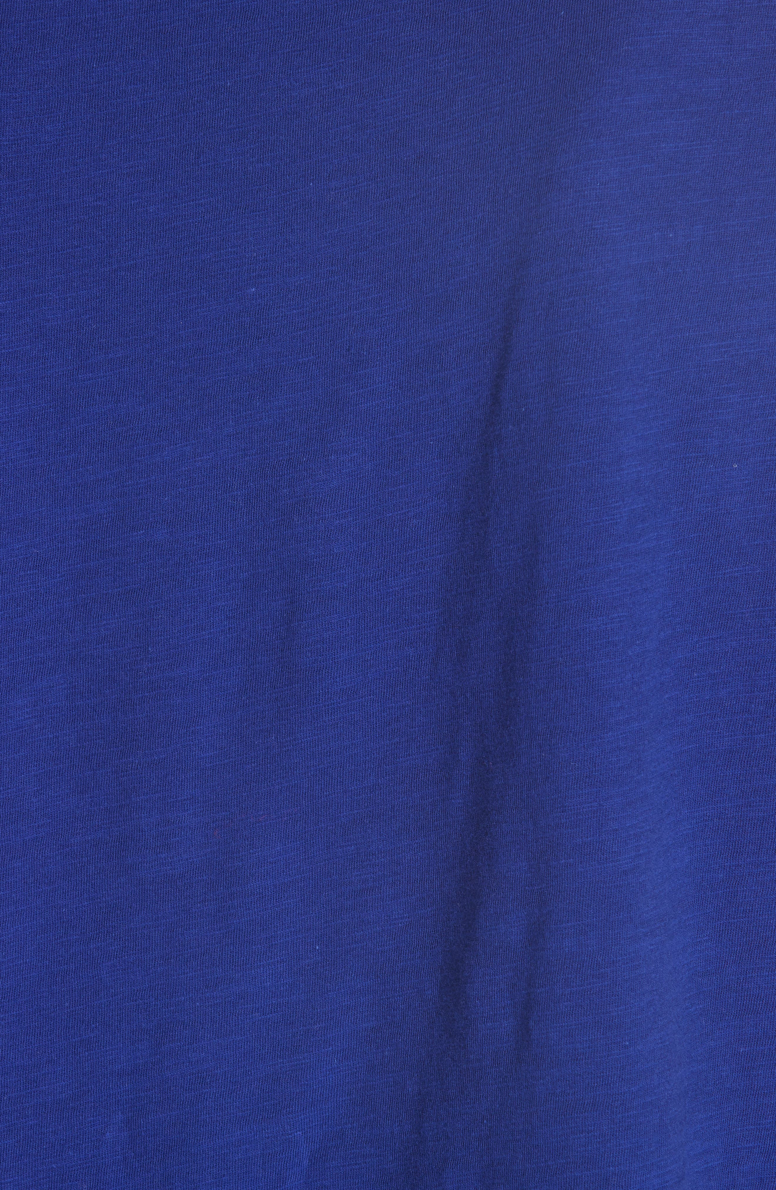 Short Organic Cotton Shell,                             Alternate thumbnail 5, color,                             BLUE VIOLET