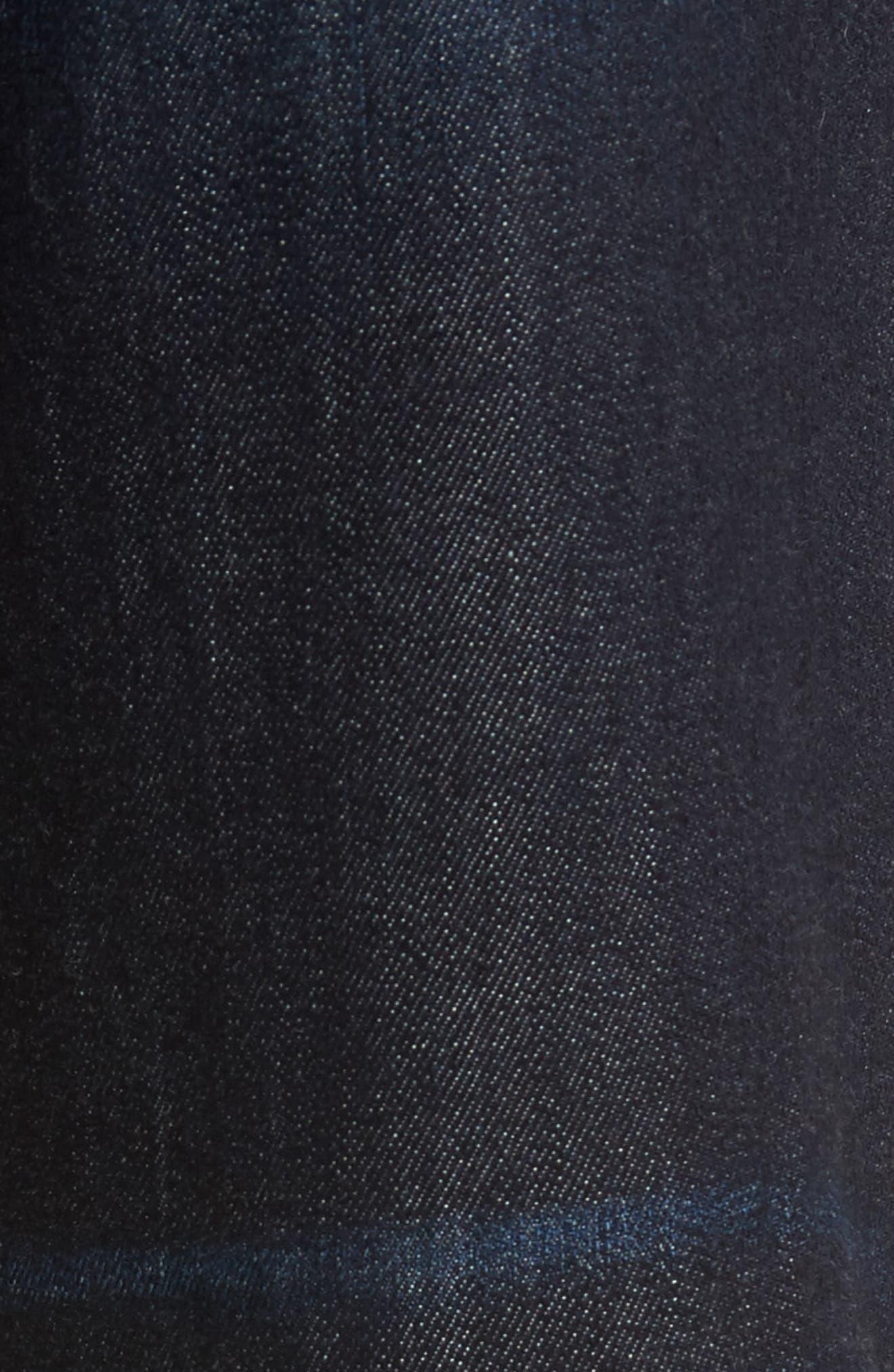 Brixton Slim Straight Fit Jeans,                             Alternate thumbnail 5, color,                             405