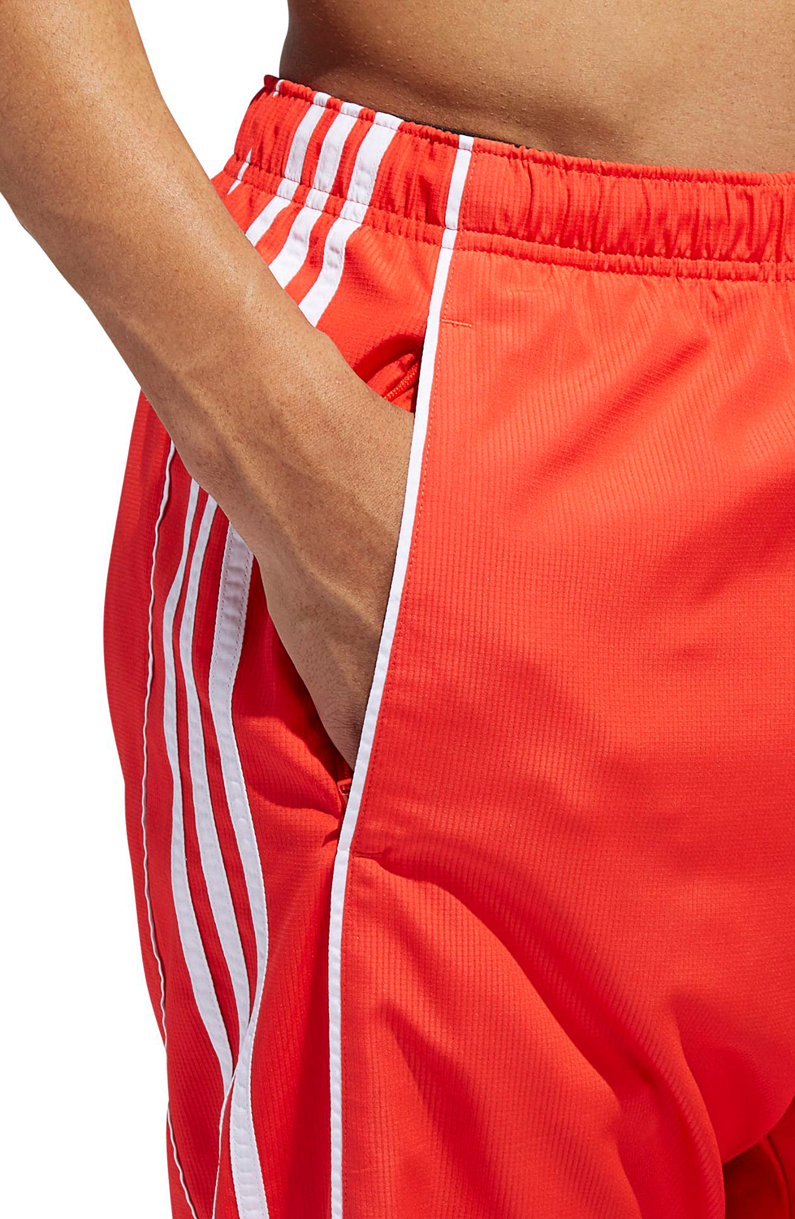 Authentics Ripstop Track Pants,                             Alternate thumbnail 5, color,                             HI-RES RED/ WHITE