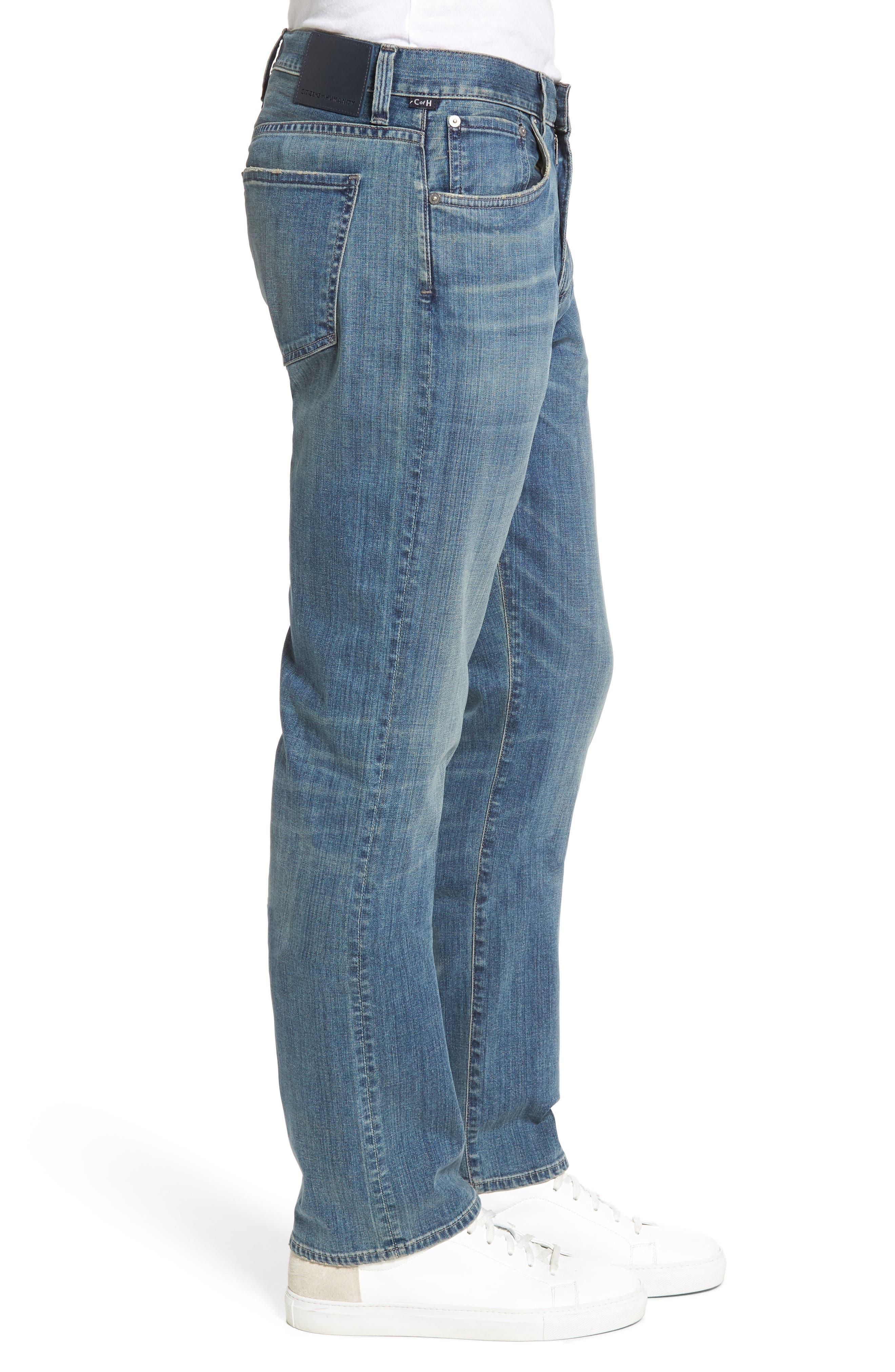 Sid Straight Leg Jeans,                             Alternate thumbnail 3, color,                             423