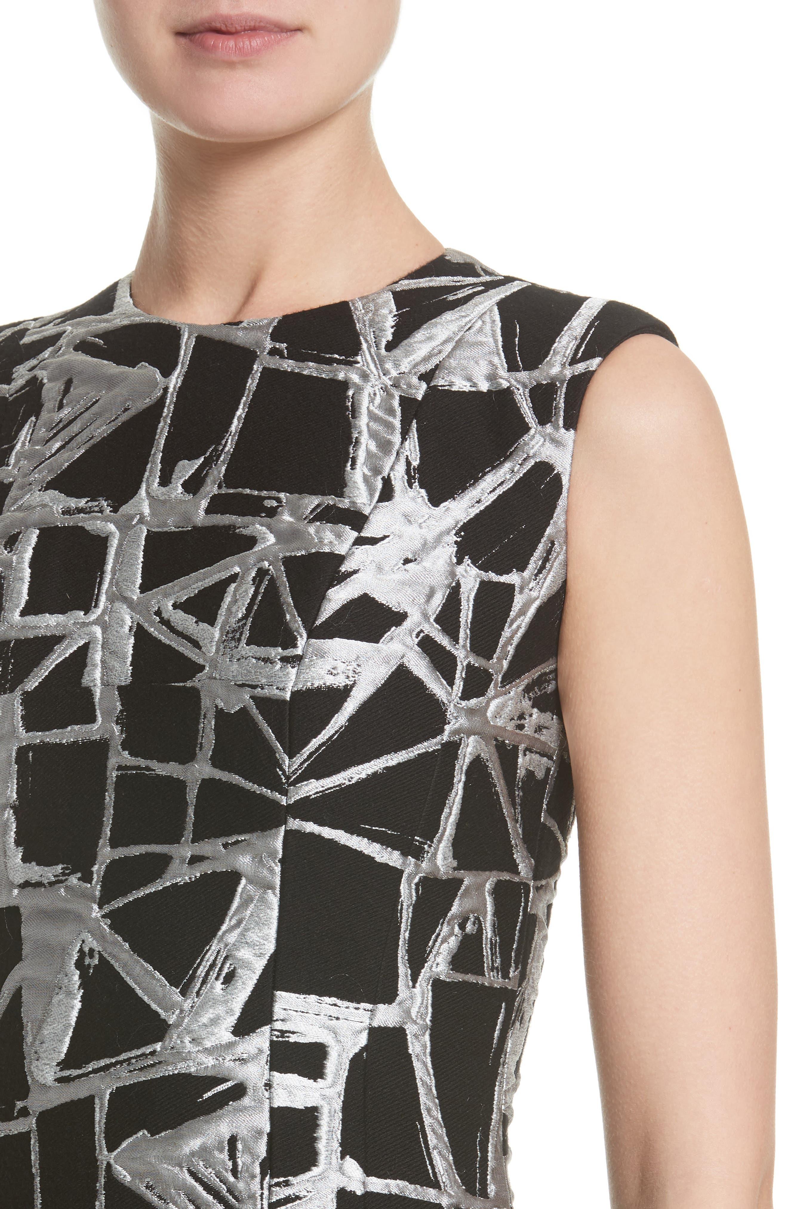 Sheath Dress,                             Alternate thumbnail 4, color,