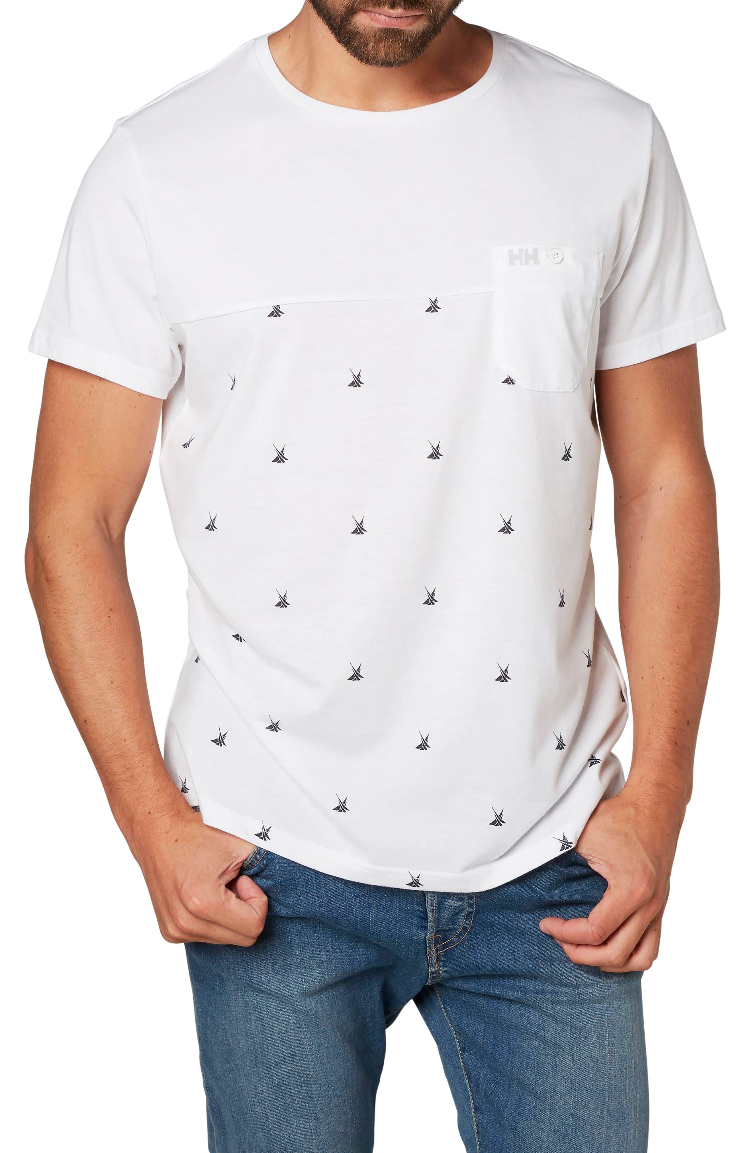 Fjord Cotton Blend T-Shirt,                         Main,                         color, 100