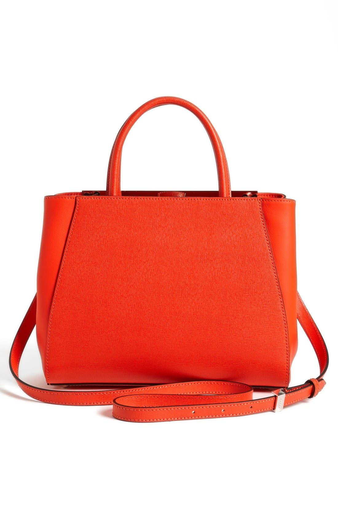 'Petite 2Jours Elite' Leather Shopper,                             Alternate thumbnail 62, color,