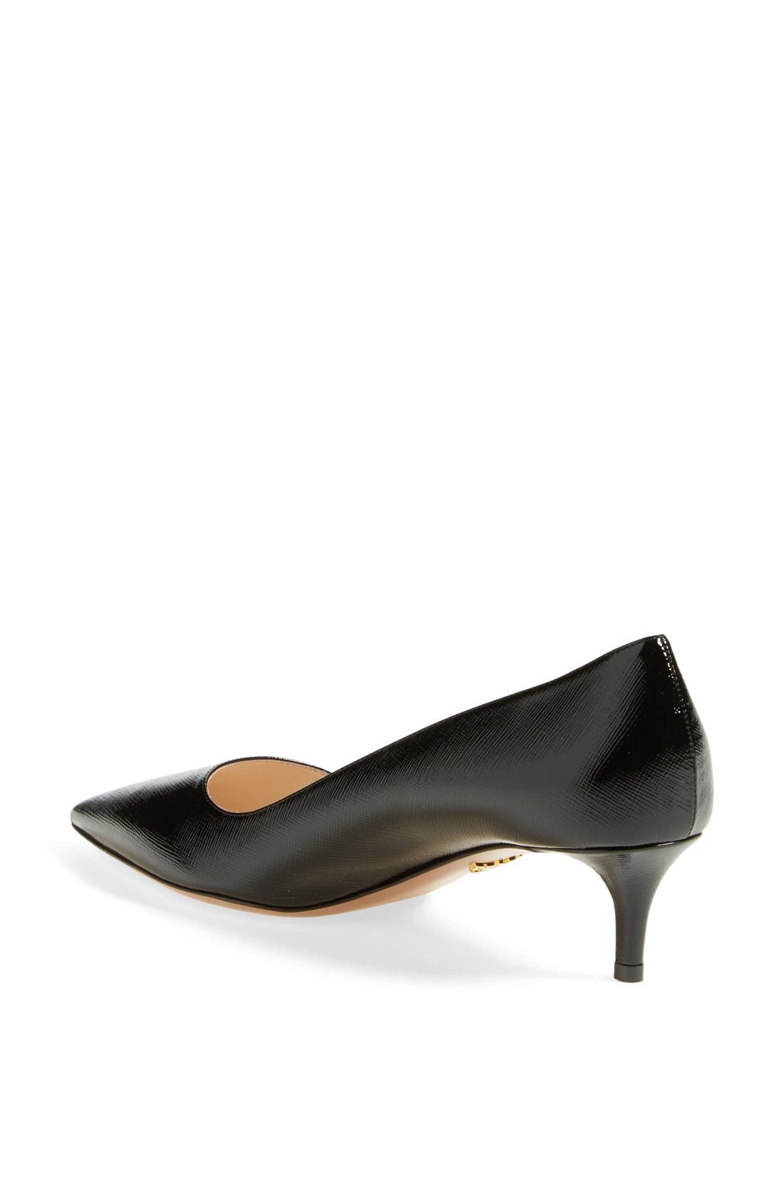 Pointy Toe Pump,                             Alternate thumbnail 2, color,                             001