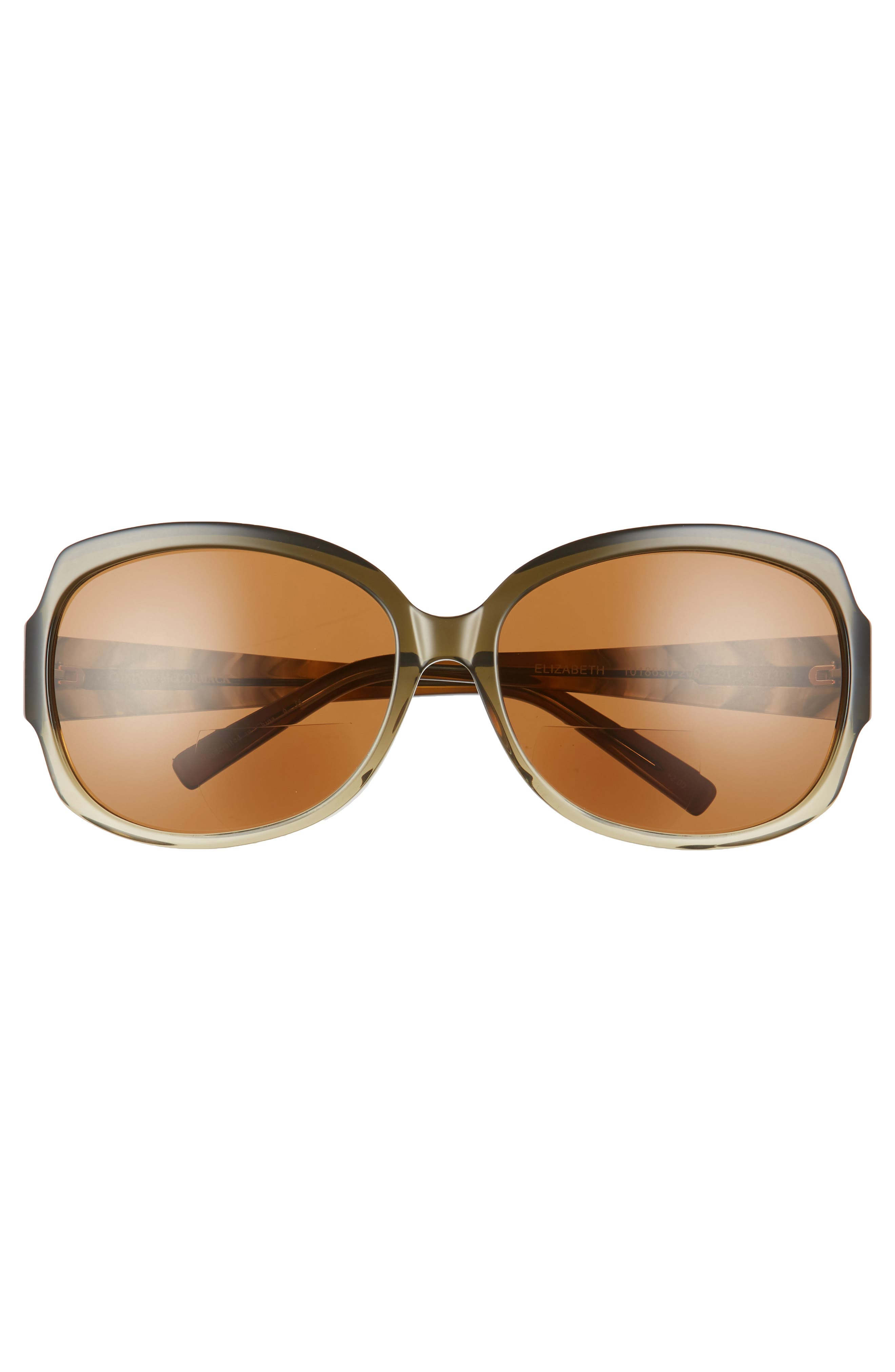 'Elizabeth' 61mm Reading Sunglasses,                             Alternate thumbnail 3, color,                             300