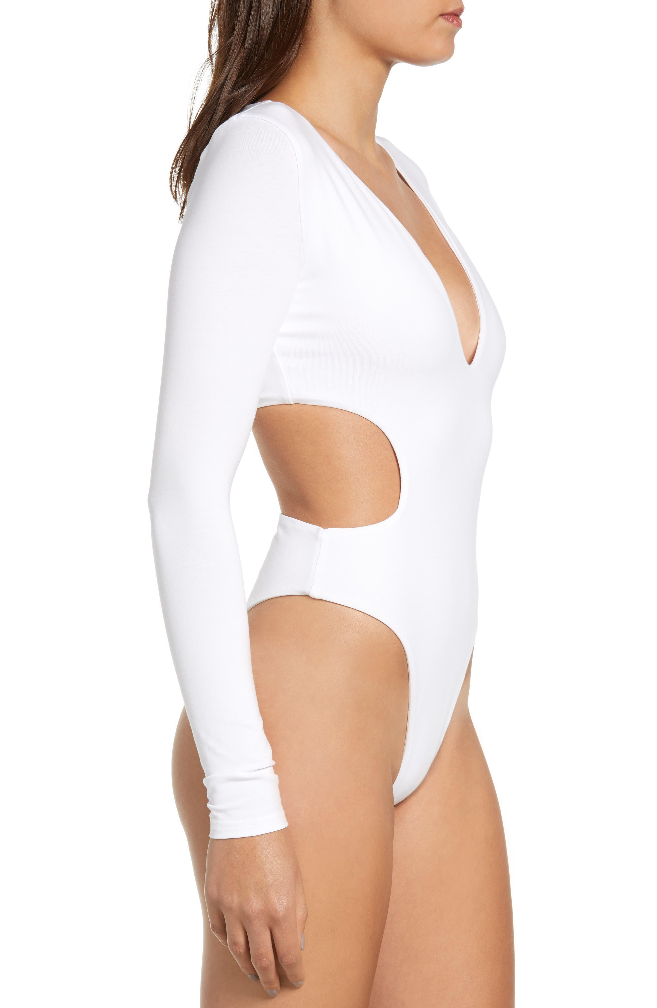 Isabella Bodysuit,                             Alternate thumbnail 4, color,                             100