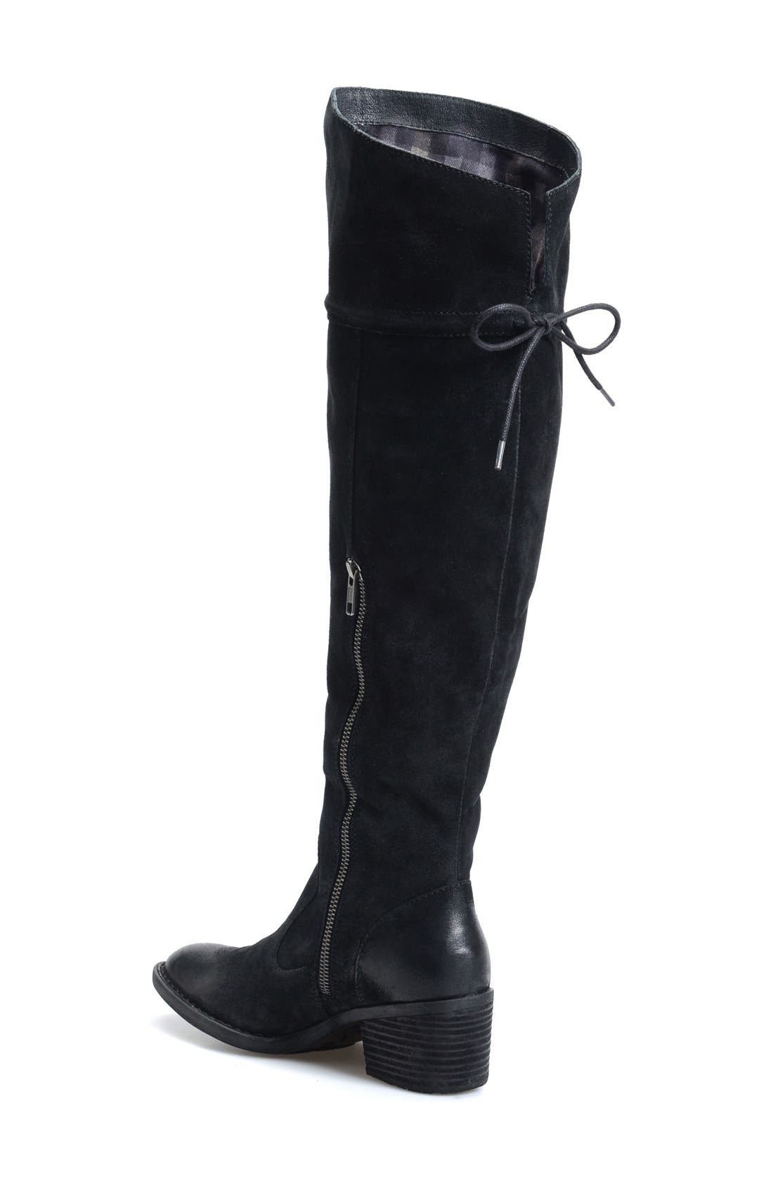 Gallinara Over the Knee Boot,                             Alternate thumbnail 4, color,