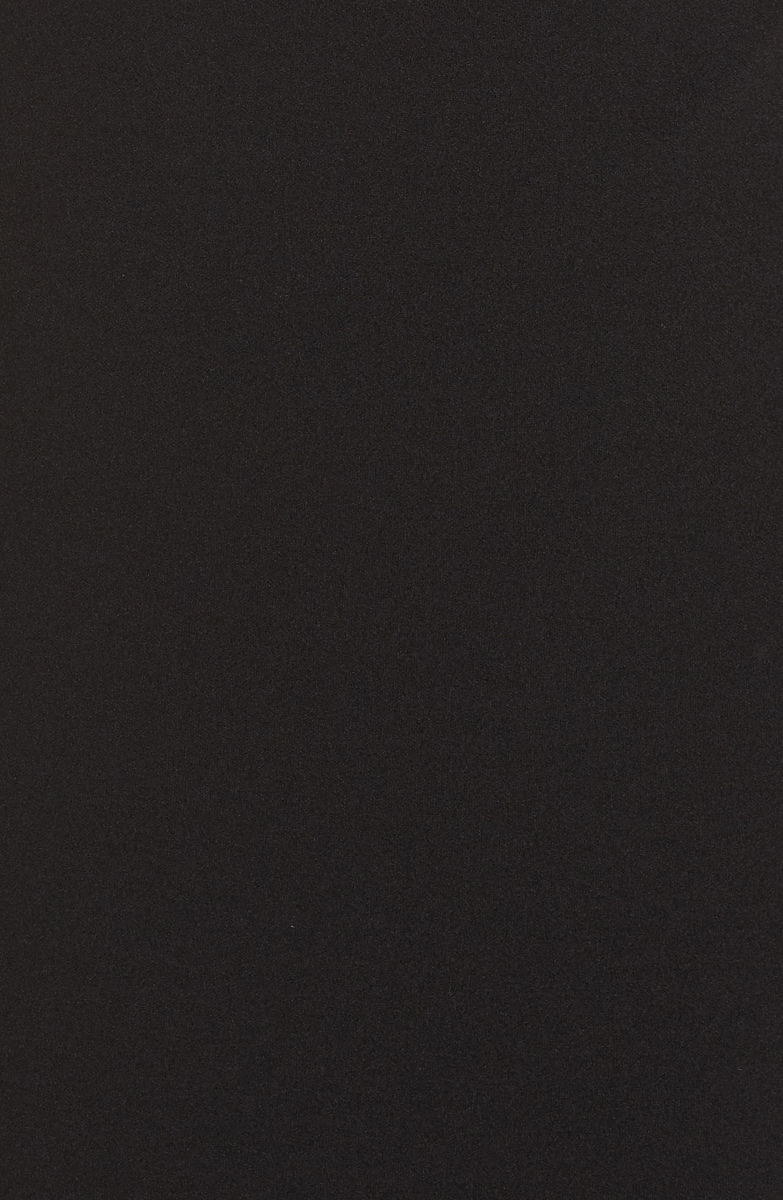 LULUS,                             Lynne Off the Shoulder Gown,                             Alternate thumbnail 6, color,                             BLACK
