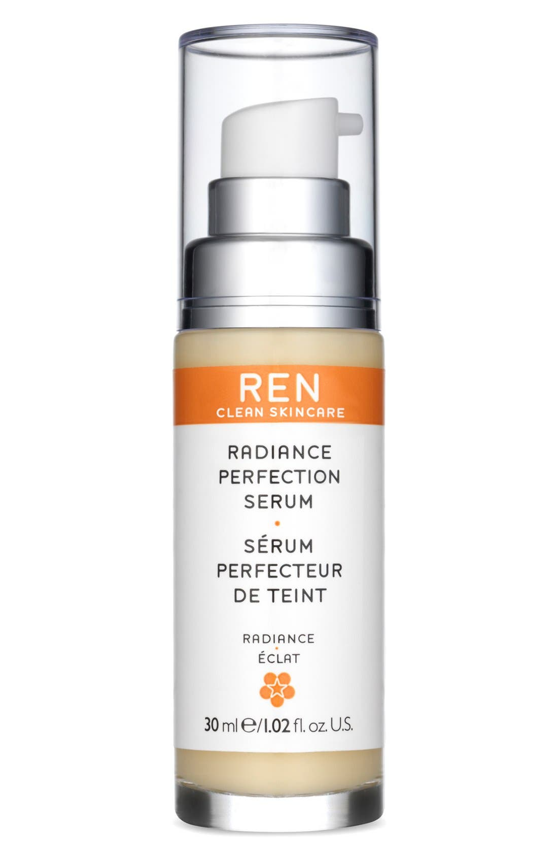 SPACE.NK.apothecary REN Radiance Perfection Serum,                             Main thumbnail 1, color,                             NO COLOR