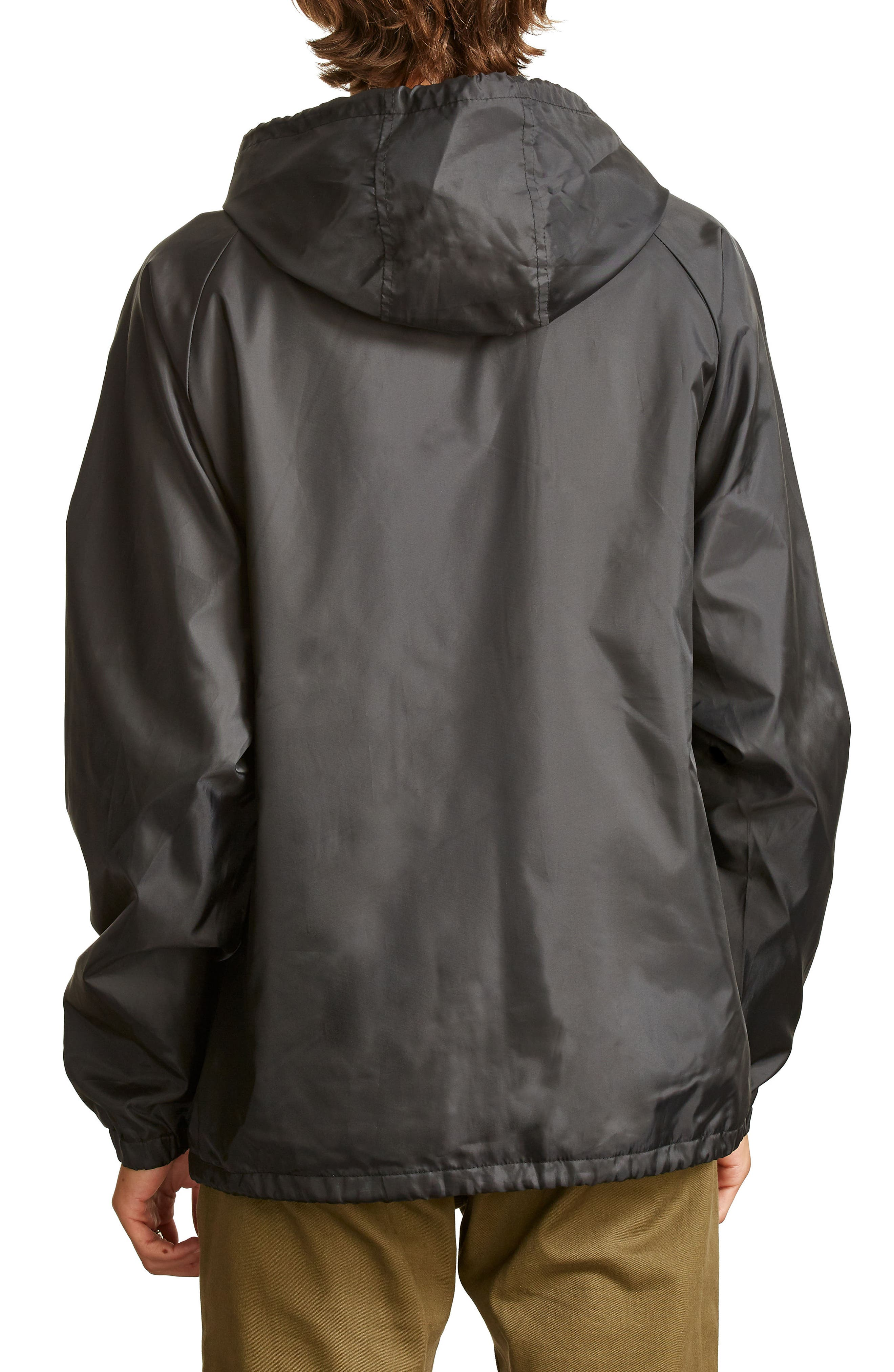 Hark Water-Resistant Coach's Jacket,                             Alternate thumbnail 2, color,                             001
