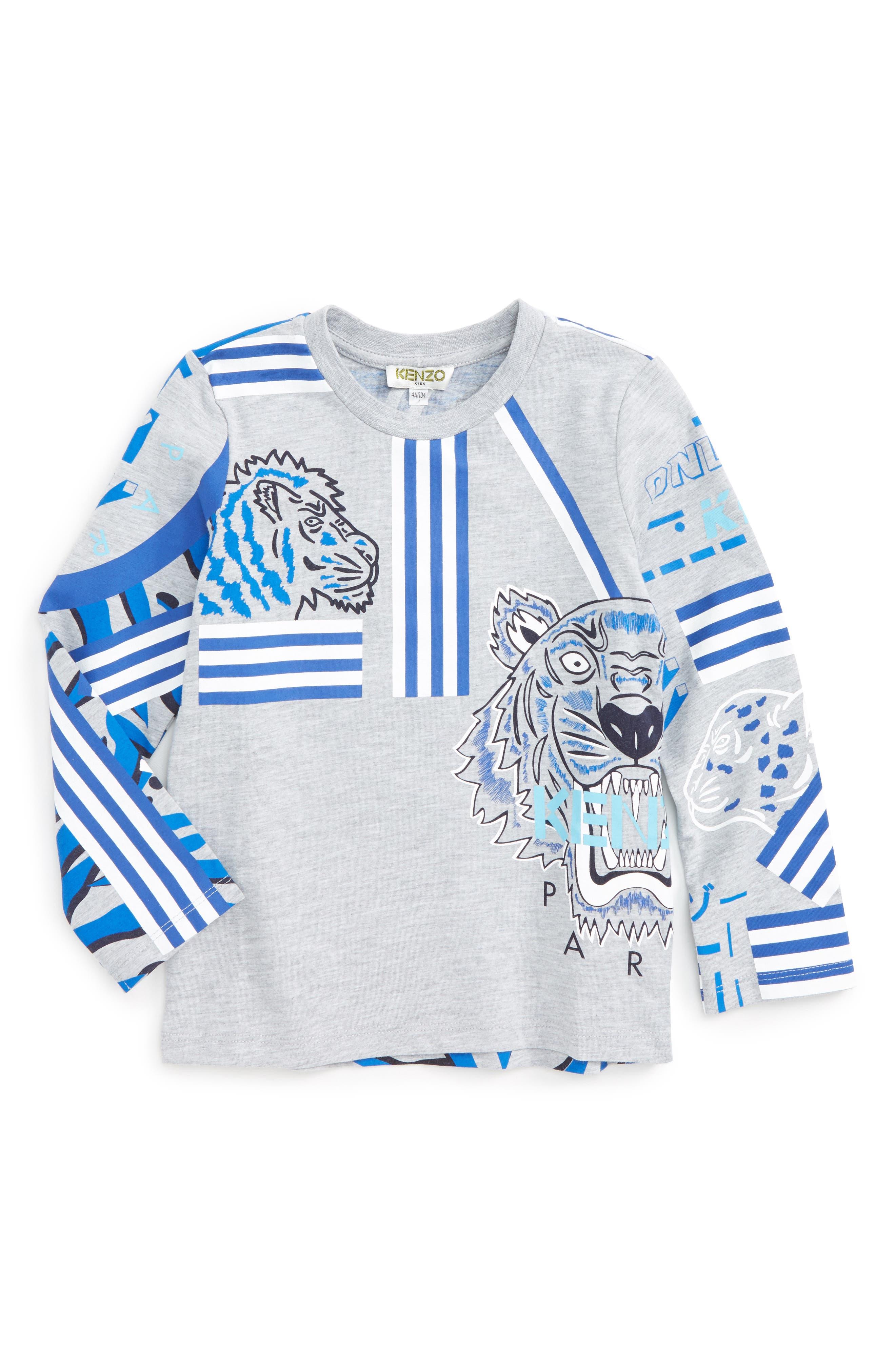Tiger Graphic T-Shirt,                             Main thumbnail 1, color,                             073