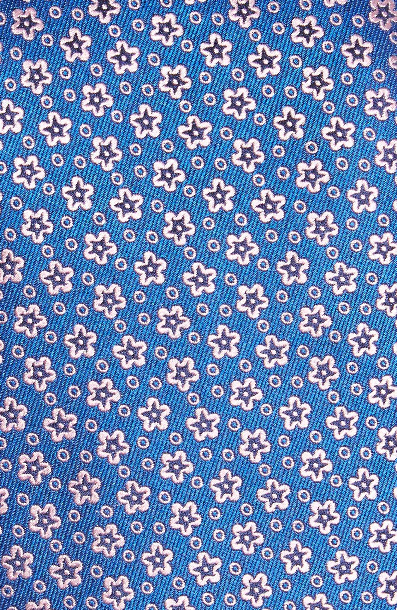 Floral Silk Tie,                             Alternate thumbnail 2, color,                             400