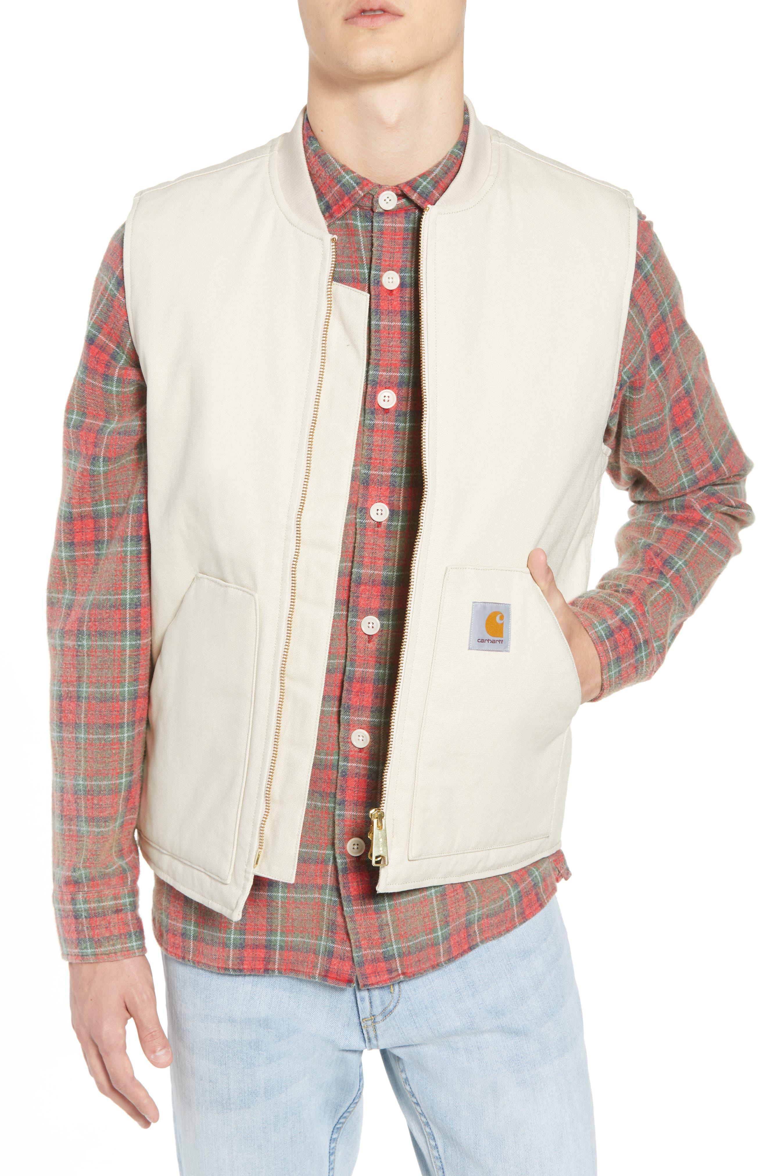 Canvas Vest,                         Main,                         color, 250