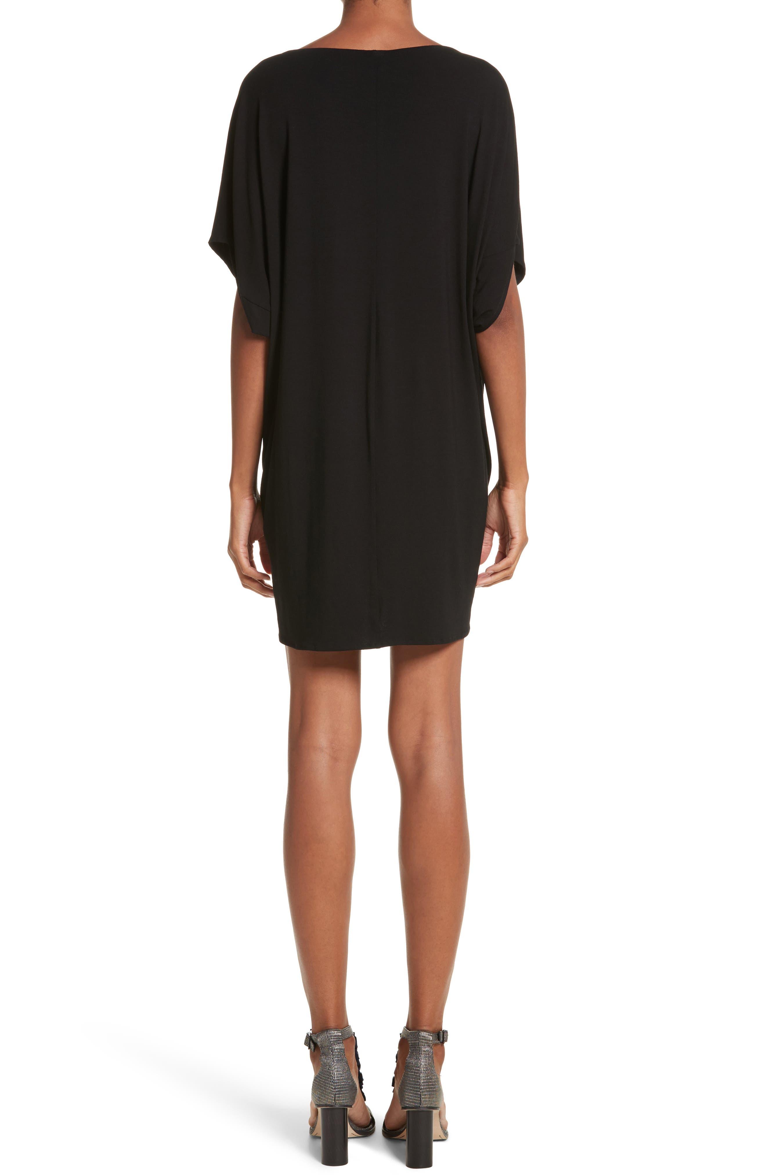 Jersey Dress,                             Alternate thumbnail 2, color,                             001