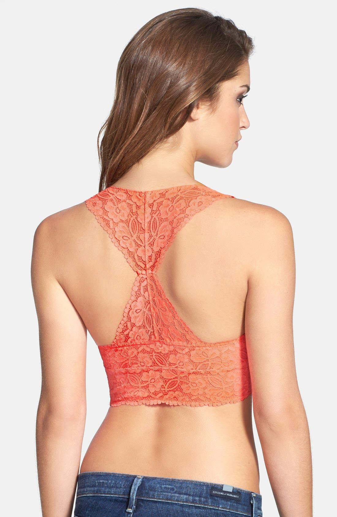Racerback Galloon Lace Bralette,                             Alternate thumbnail 81, color,