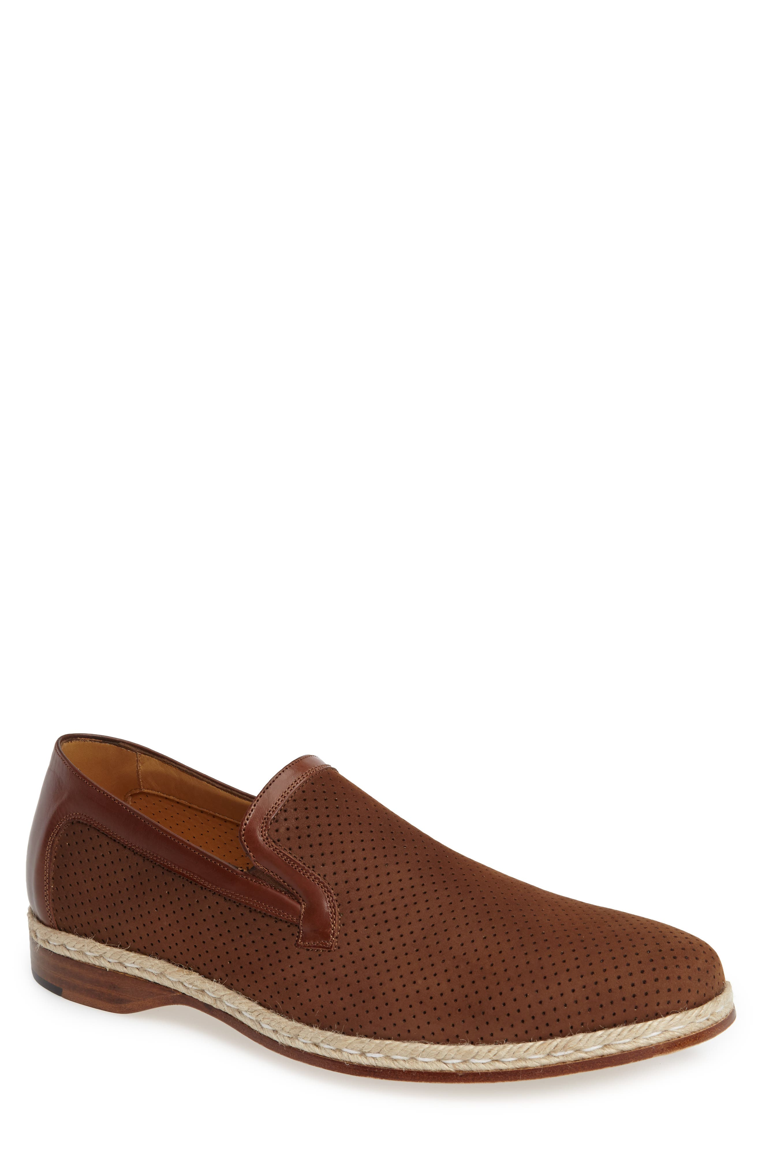 Marcet Perforated Loafer,                             Main thumbnail 1, color,                             200