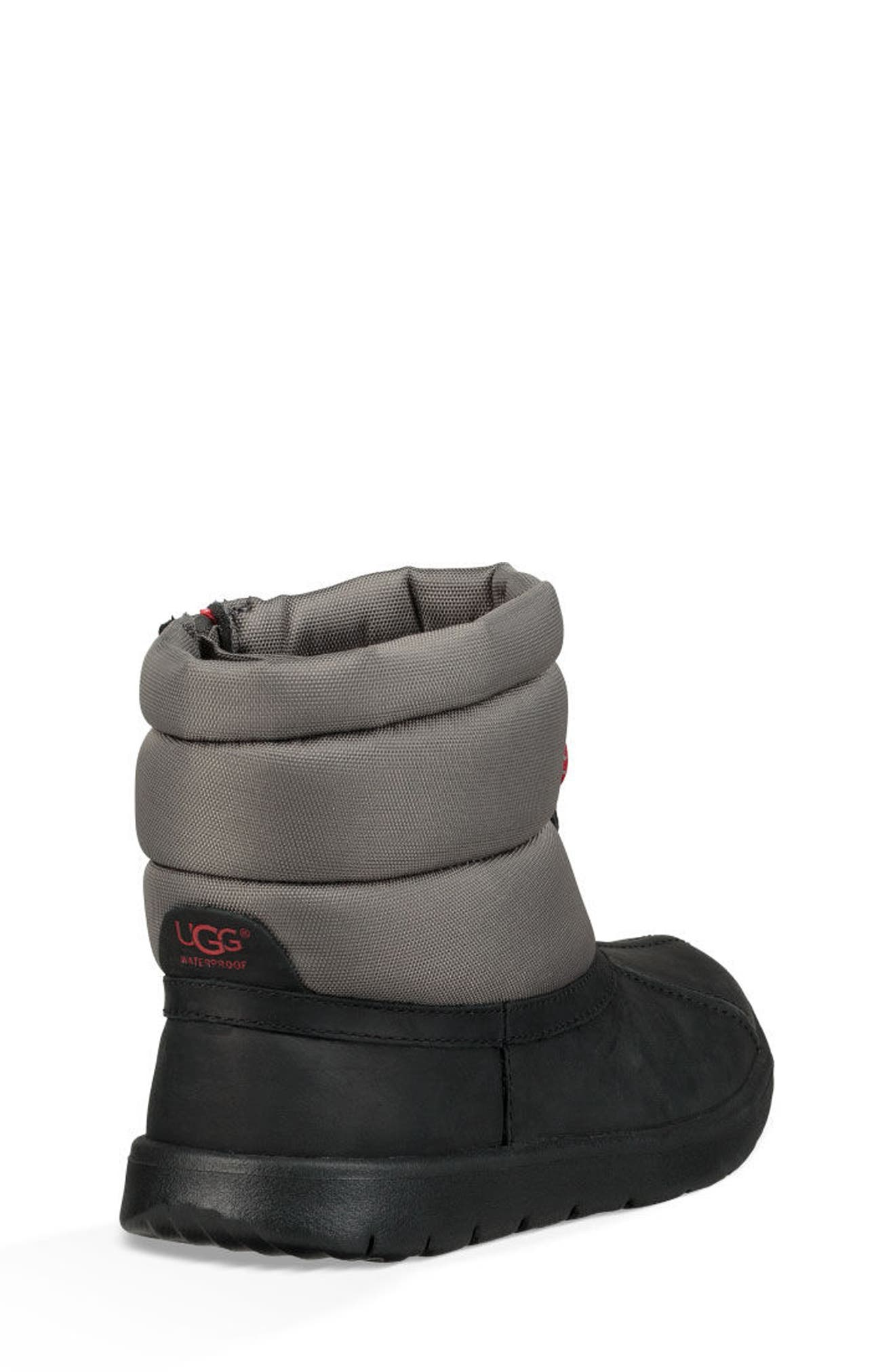 Puffer Winter Boot,                             Alternate thumbnail 2, color,                             BLACK