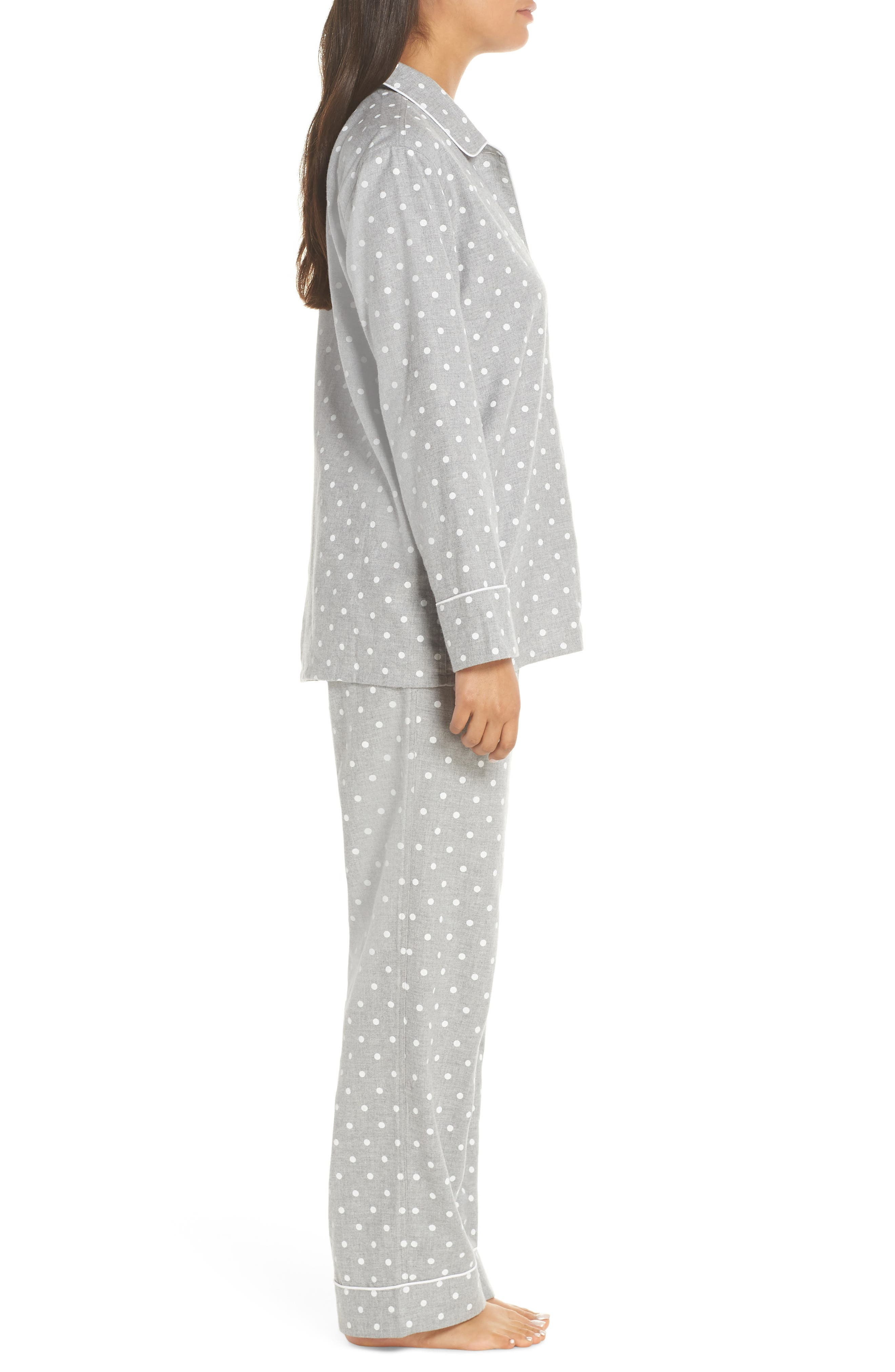 Flannel Pajamas,                             Alternate thumbnail 3, color,                             023