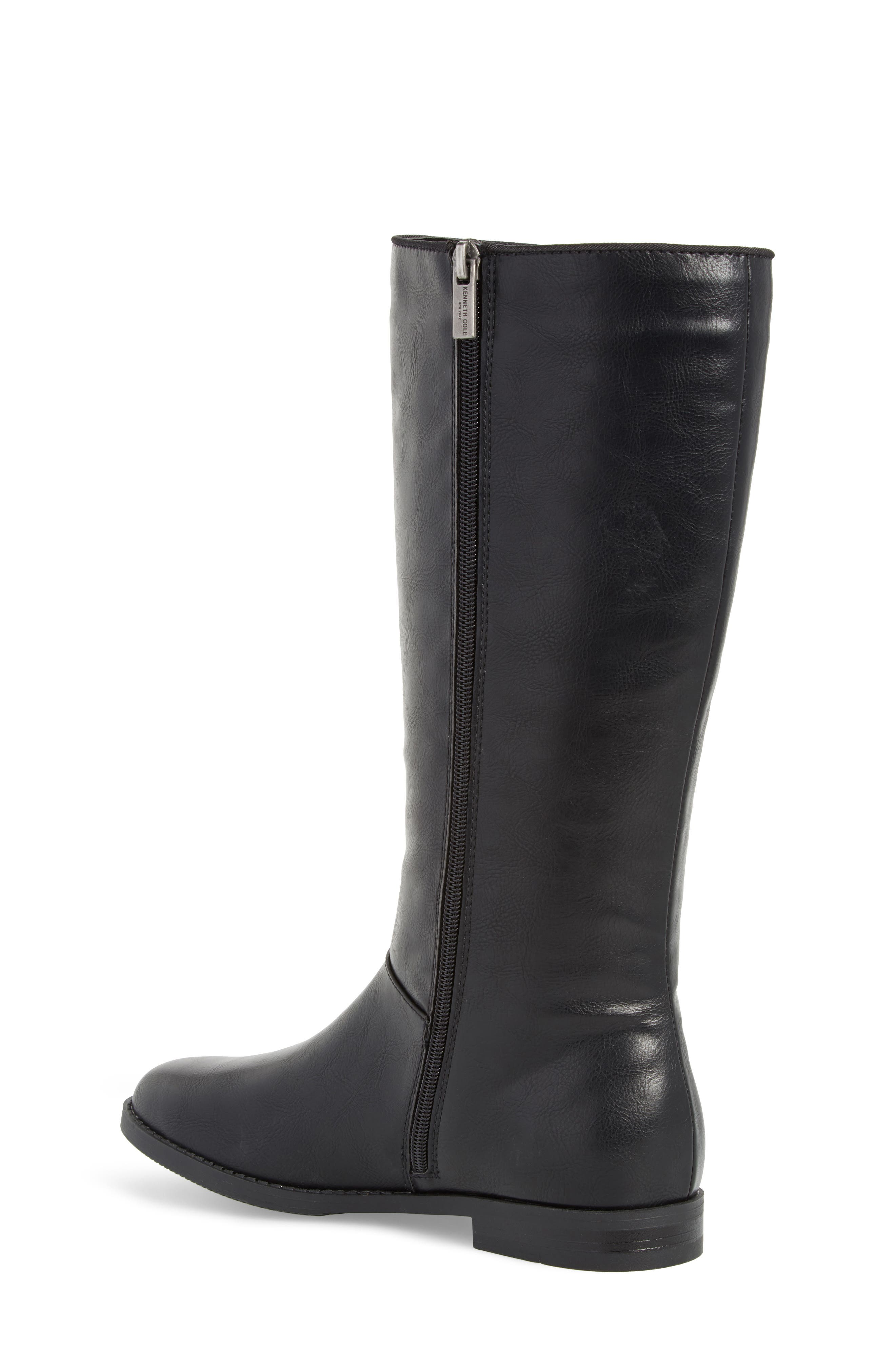 Kennedy Laced Tall Boot,                             Alternate thumbnail 2, color,