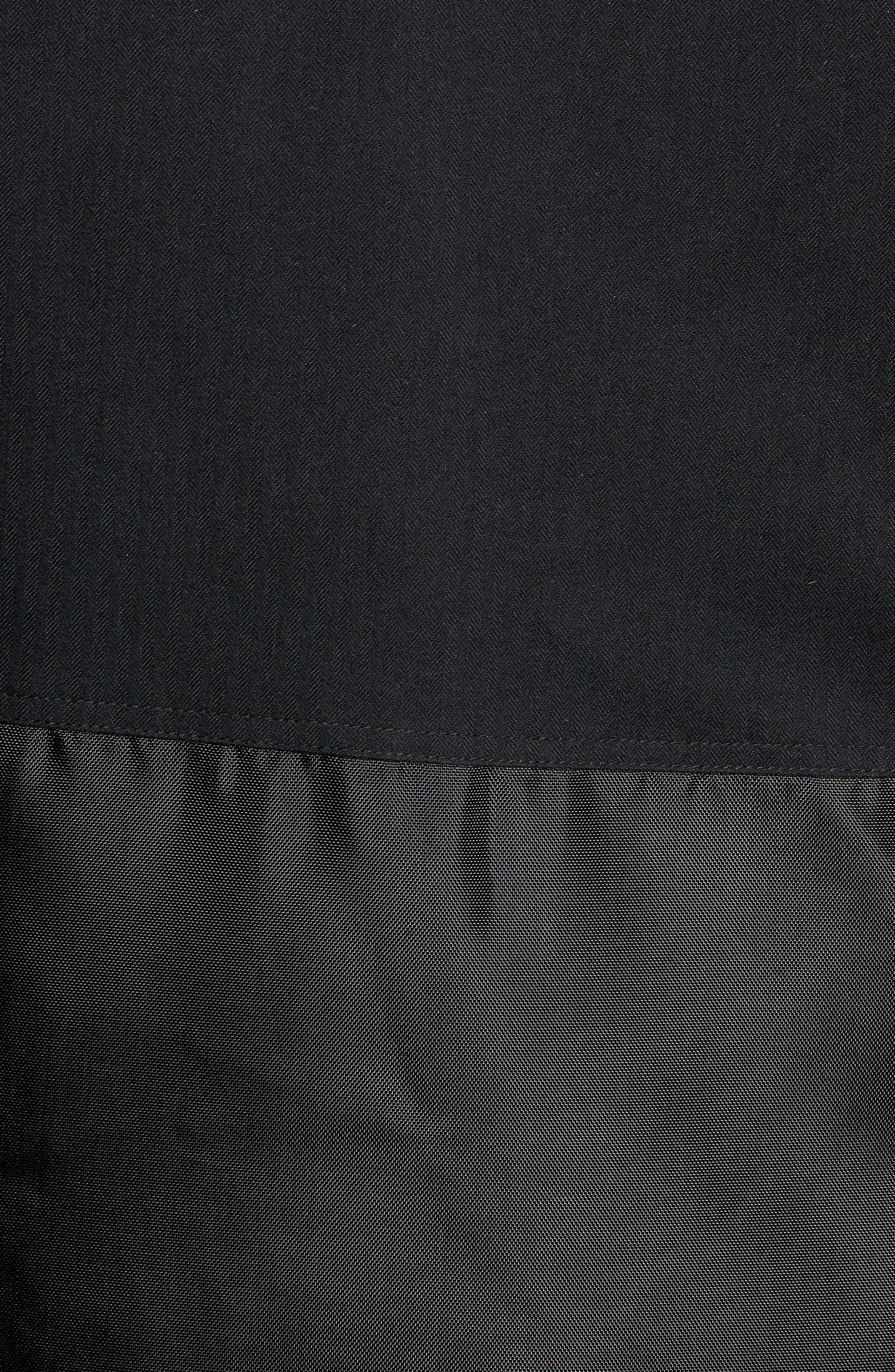Maxfield Faux Fur Trim Parka,                             Alternate thumbnail 7, color,                             BLACK