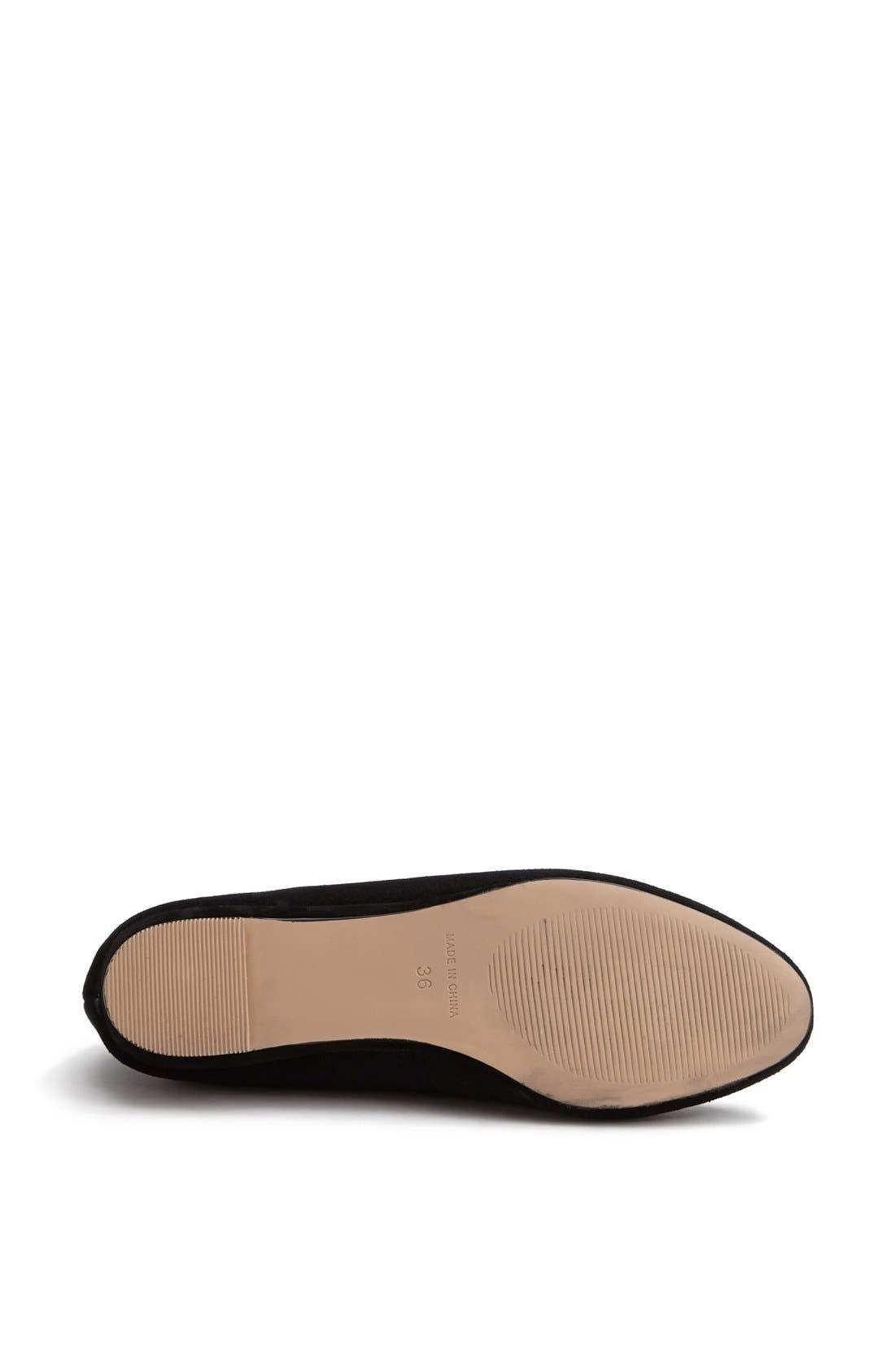 'Mello Mini Wedge' Court Shoe,                             Alternate thumbnail 3, color,                             001