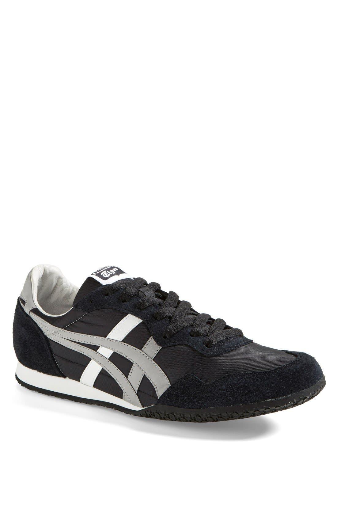 'Serrano' Sneaker,                         Main,                         color, BLACK/ LIGHT GREY/ WHITE