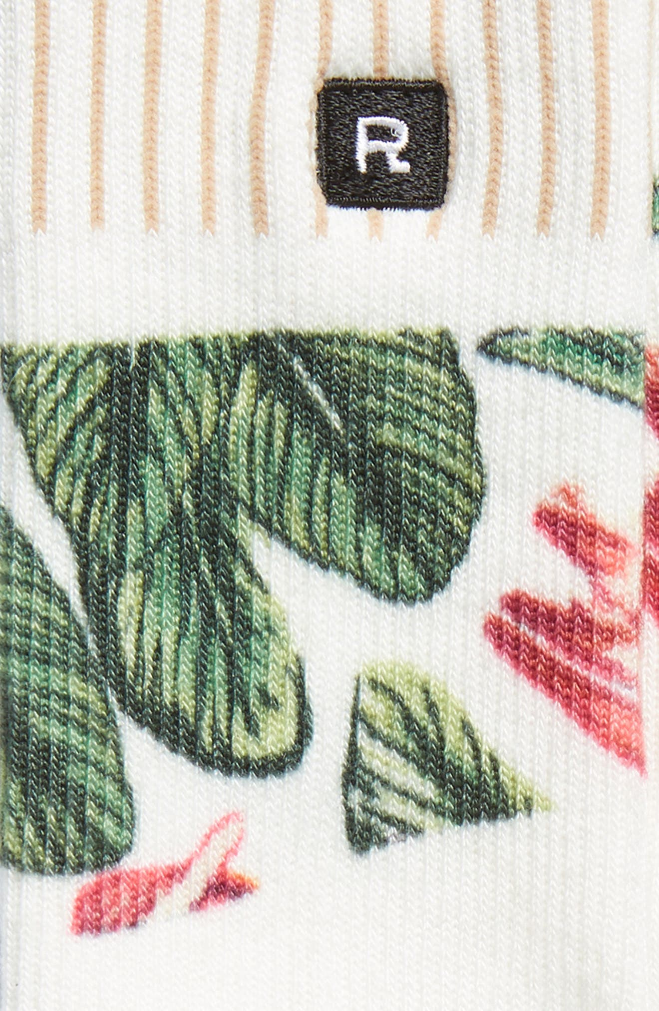 Malibu Everyday Crew Socks,                             Alternate thumbnail 2, color,                             IVORY