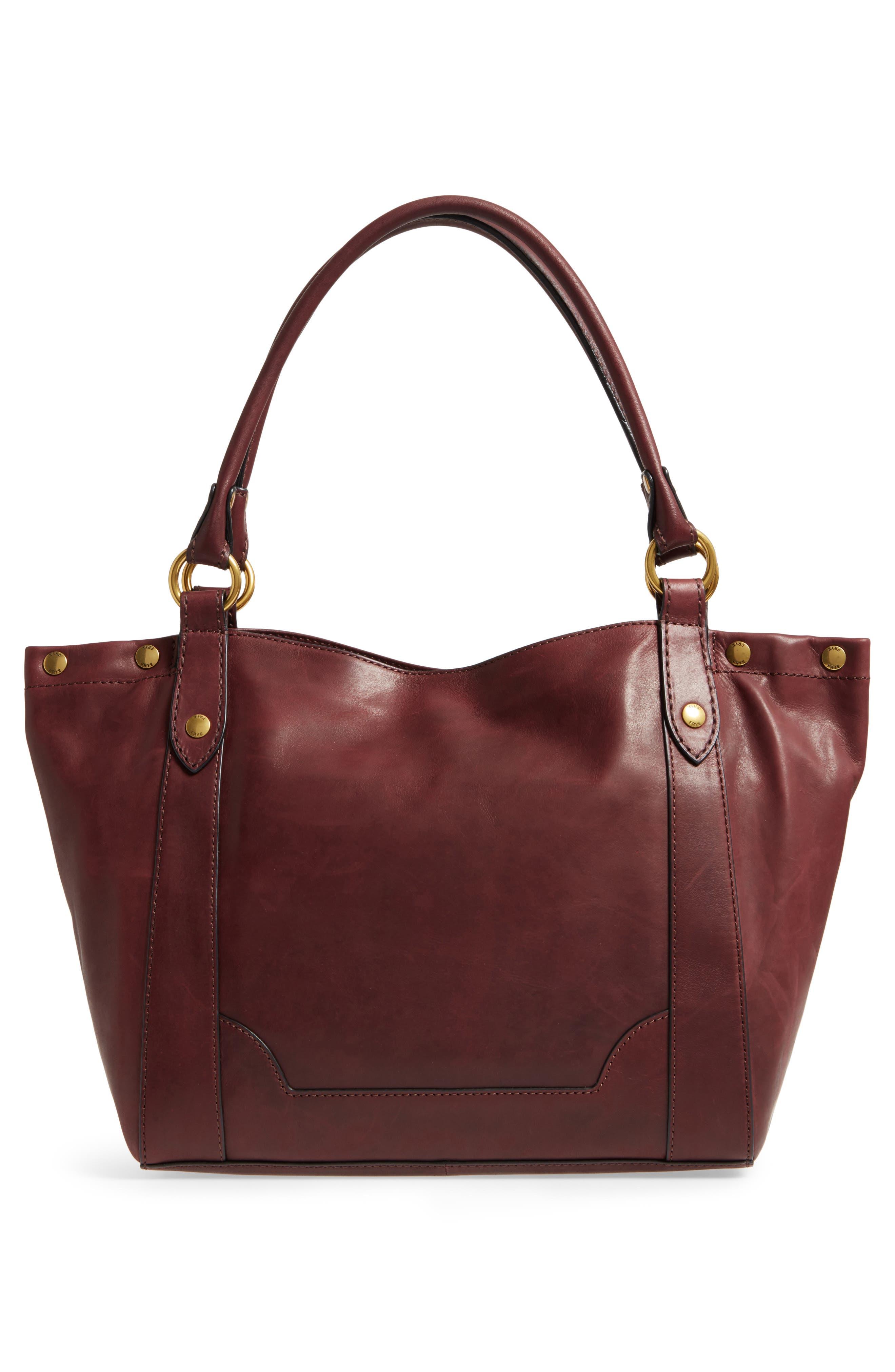 Melissa Leather Shoulder Bag,                             Alternate thumbnail 9, color,